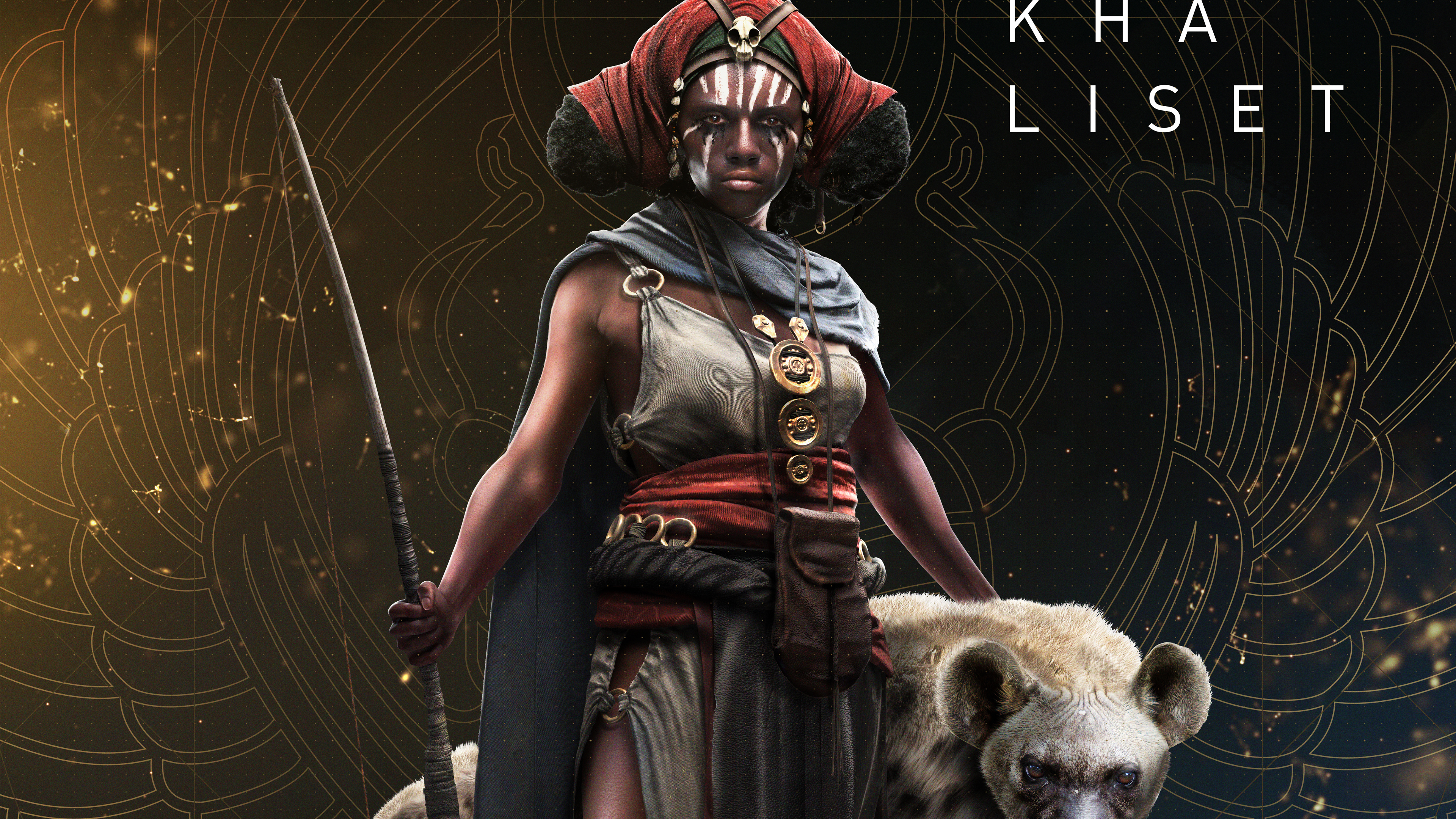 3840x2160 Khaliset Assassins Creed Origins 4k Wallpaper Hd Games 4k Wallpapers Images Photos And Background