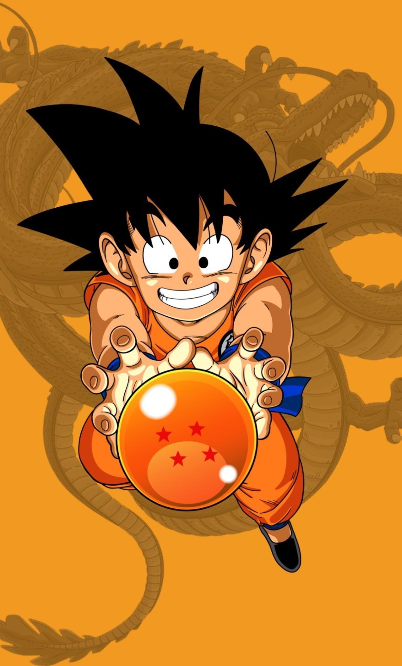 1280x2120 Kid Goku Dragon Ball Z Iphone 6 Plus Wallpaper Hd
