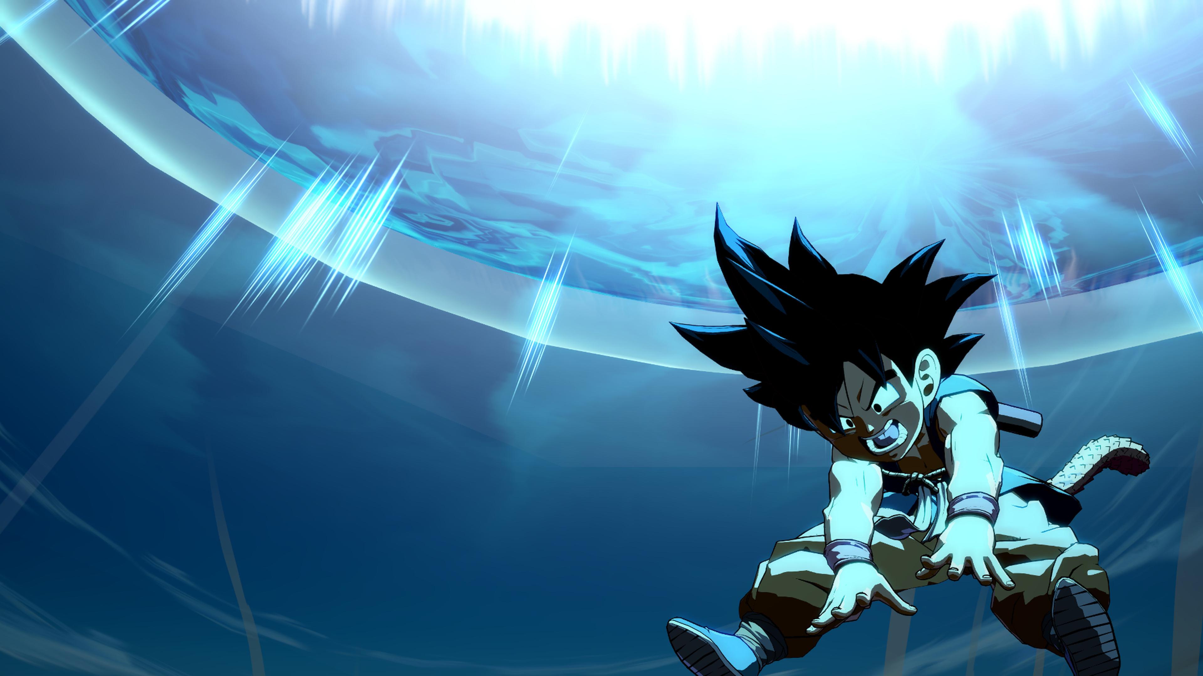 3840x2160 Kid Goku 4K Wallpaper, HD Anime 4K Wallpapers ...