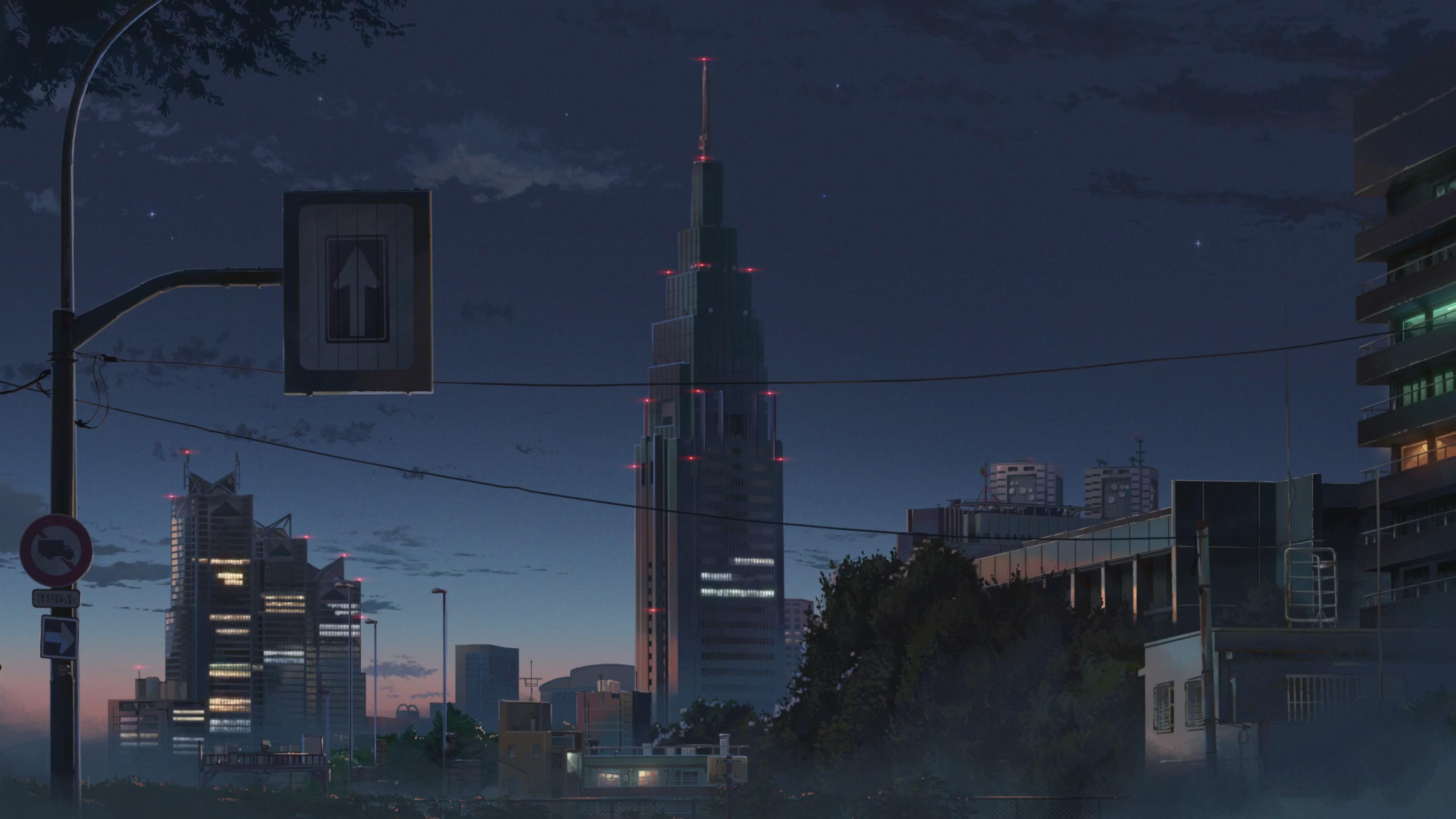 3840x2160 Kimi No Na Wa Anime City 4k Wallpaper Hd Anime 4k