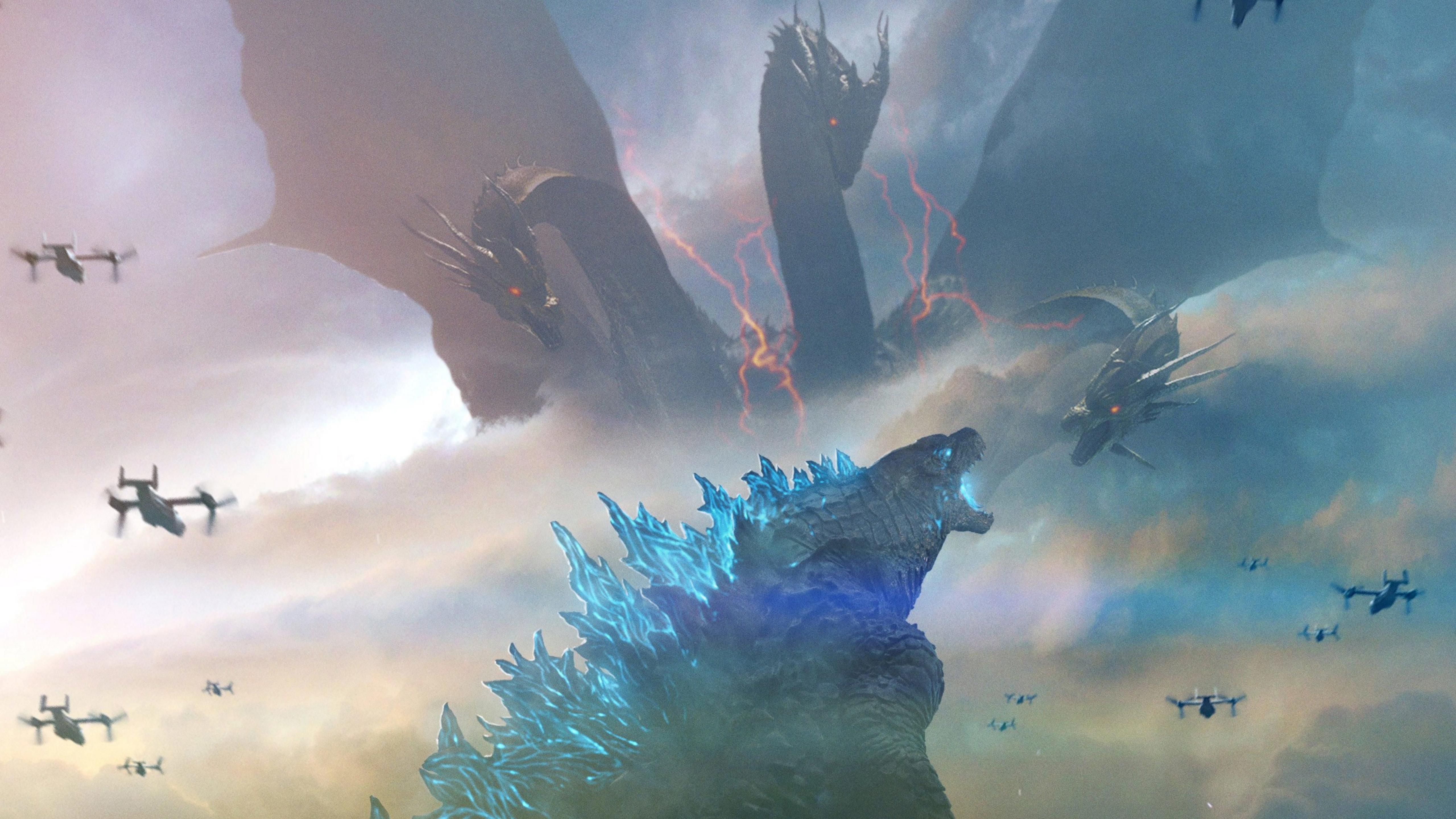 5120x2880 King of the Monsters Godzilla 5K Wallpaper, HD ...