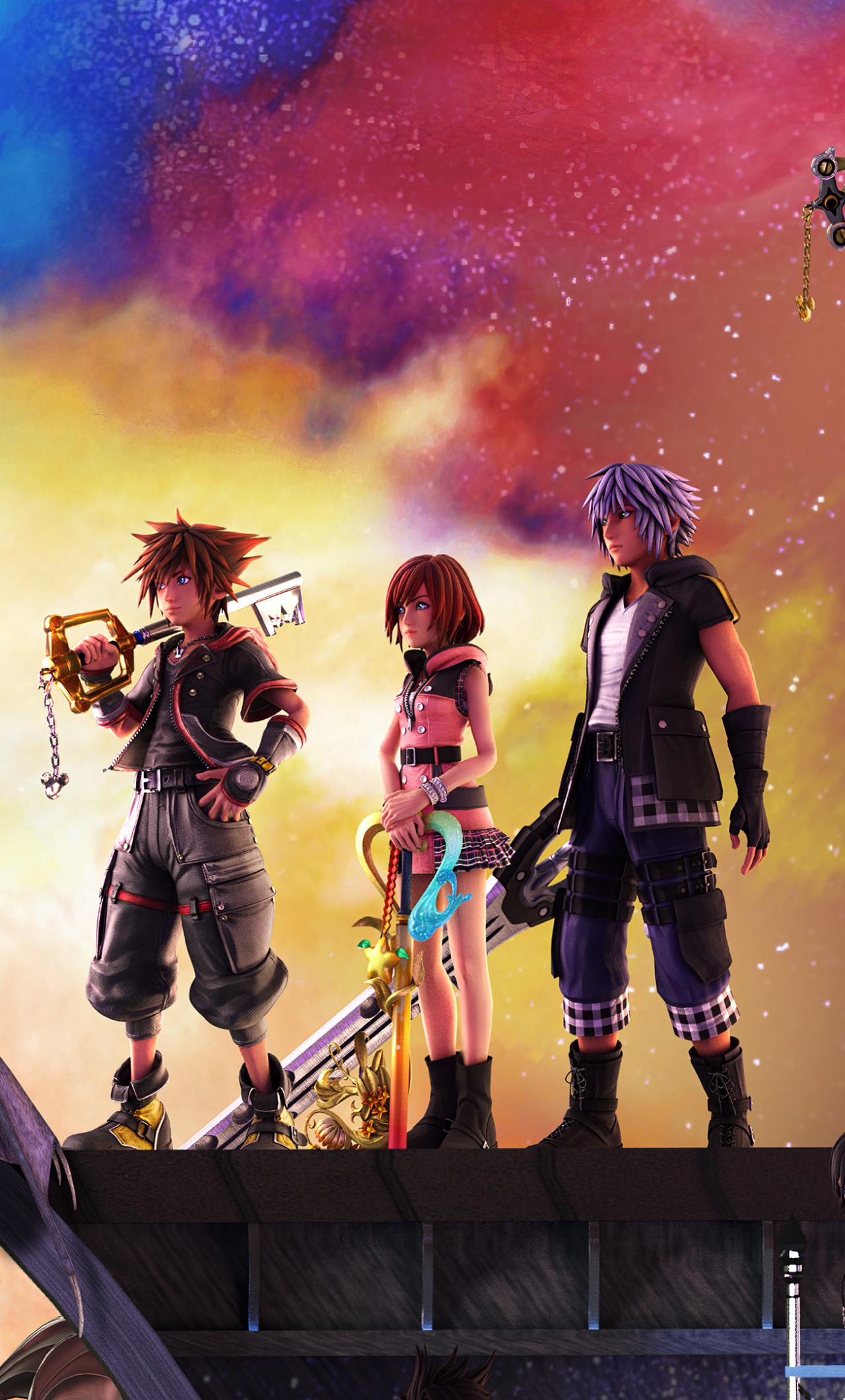 1280x2120 Kingdom Hearts 3 Iphone 6 Plus Wallpaper Hd Games 4k