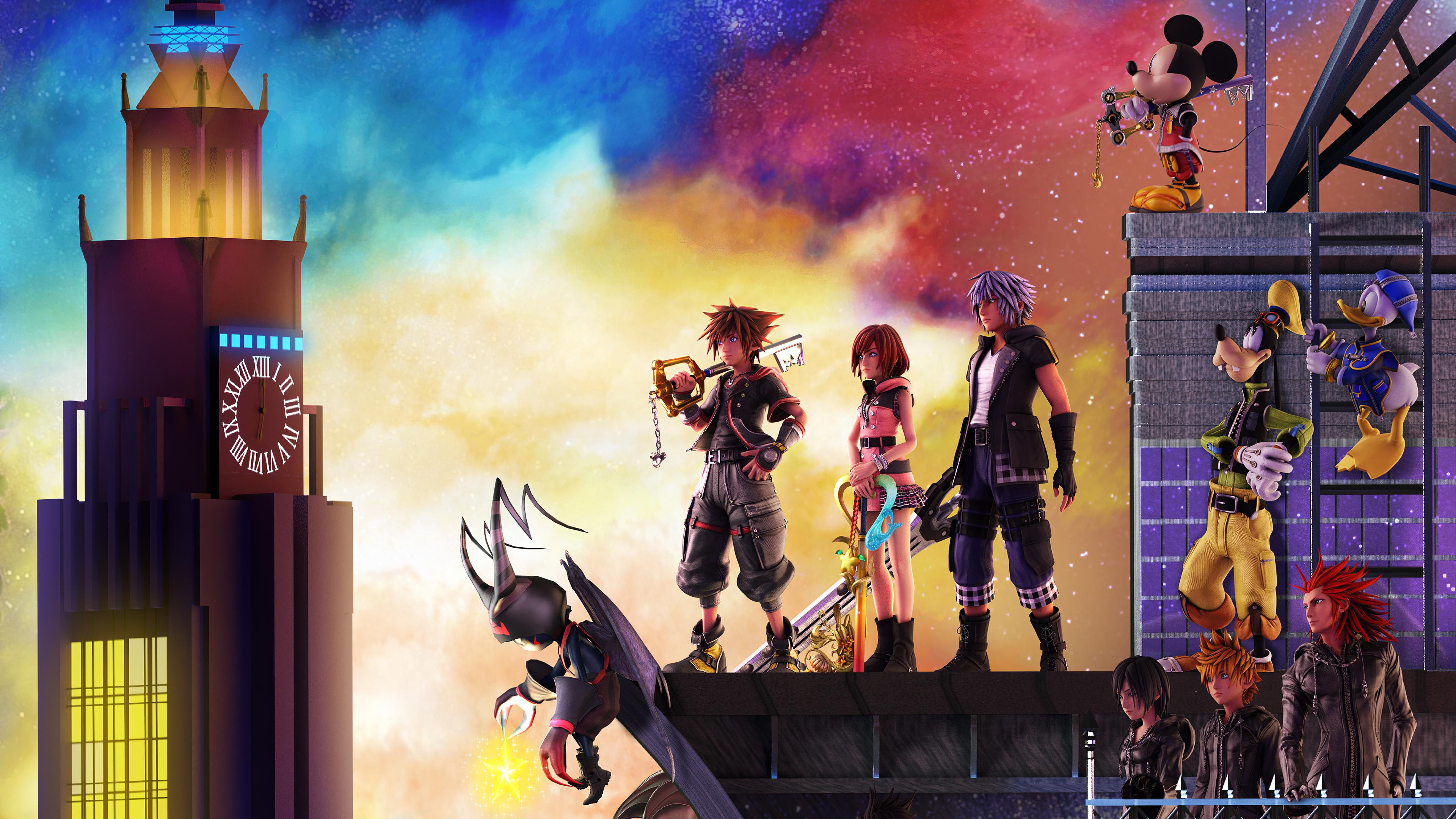 Kingdom Hearts 3 Wallpaper, HD Games 4K Wallpapers, Images ...