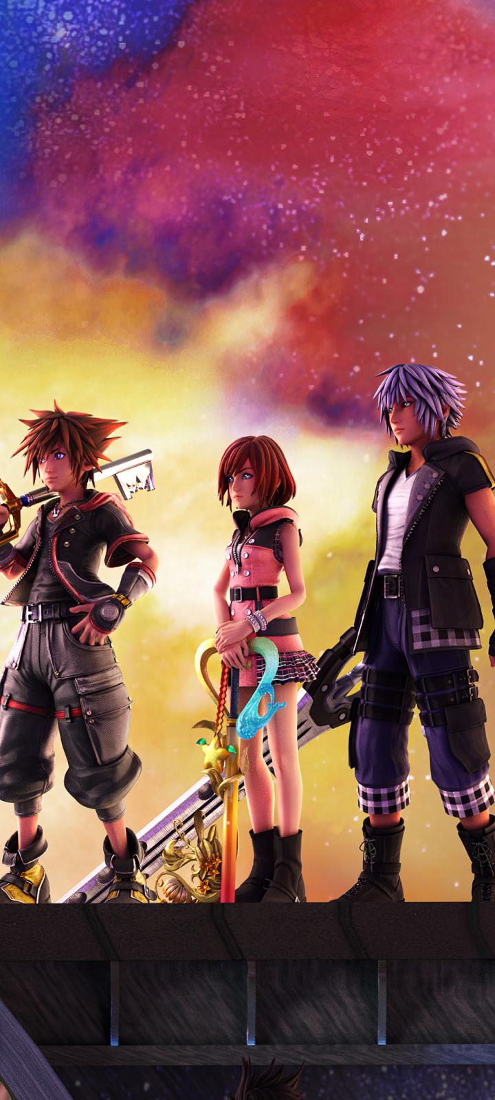 720x1600 Kingdom Hearts 3 720x1600 Resolution Wallpaper ...