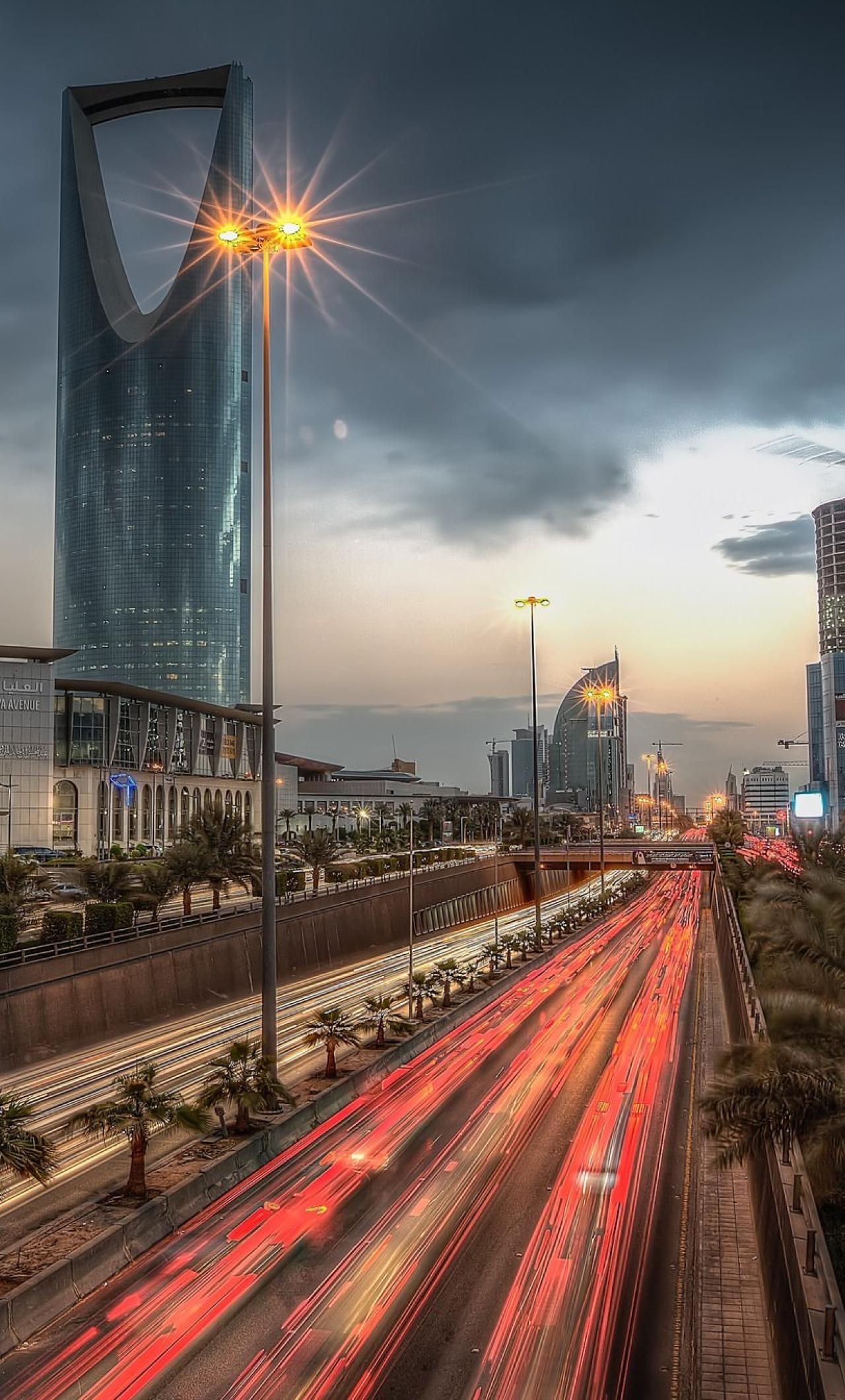 Kingdom Tower Saudi Arabia Full Hd 2k Wallpaper