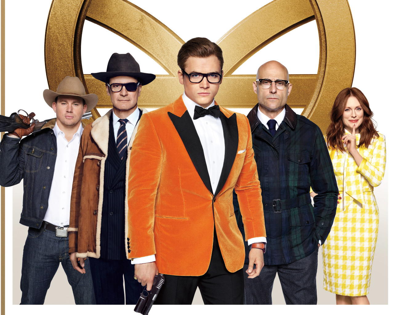 Kingsman The Golden Circle Wallpaper: Kingsman The Golden Circle Poster, HD 4K Wallpaper