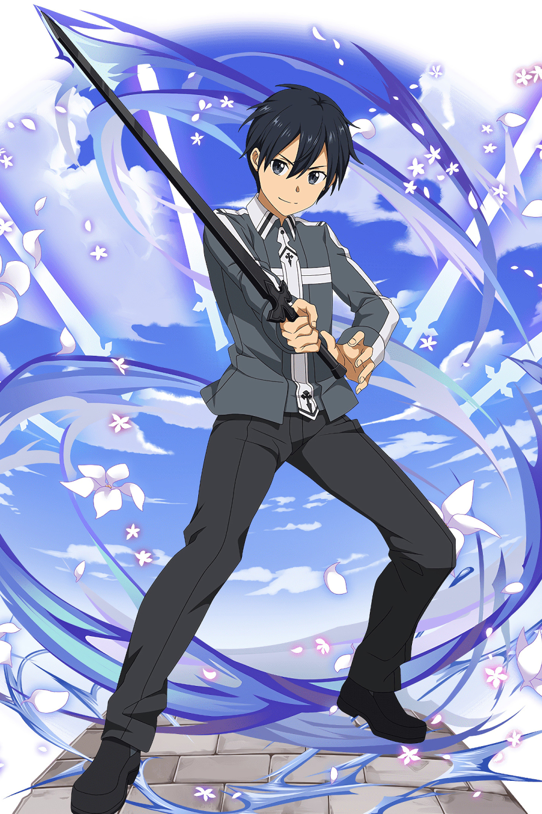 1080x1620 Kirito In Sword Art Online 1080x1620 Resolution