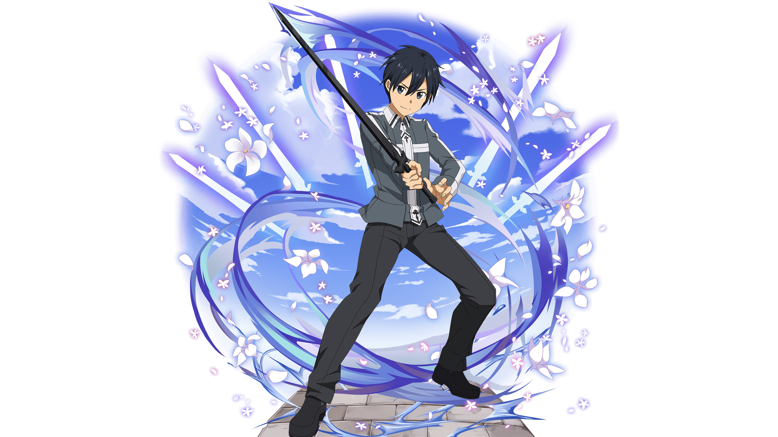 2560x1440 Kirito In Sword Art Online 1440p Resolution