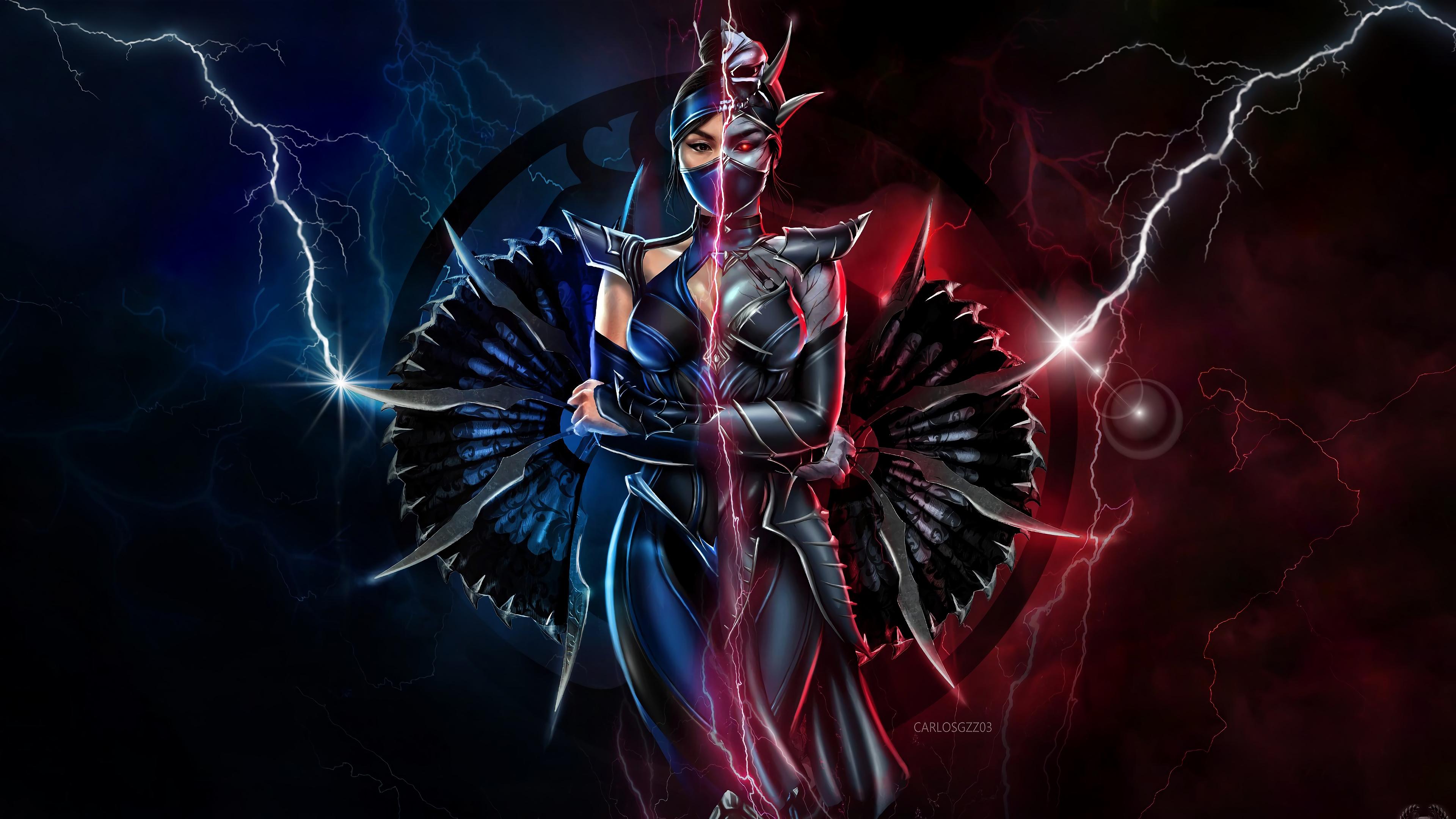 2560x1080 Kitana Mortal Kombat 11 2560x1080 Resolution Wallpaper