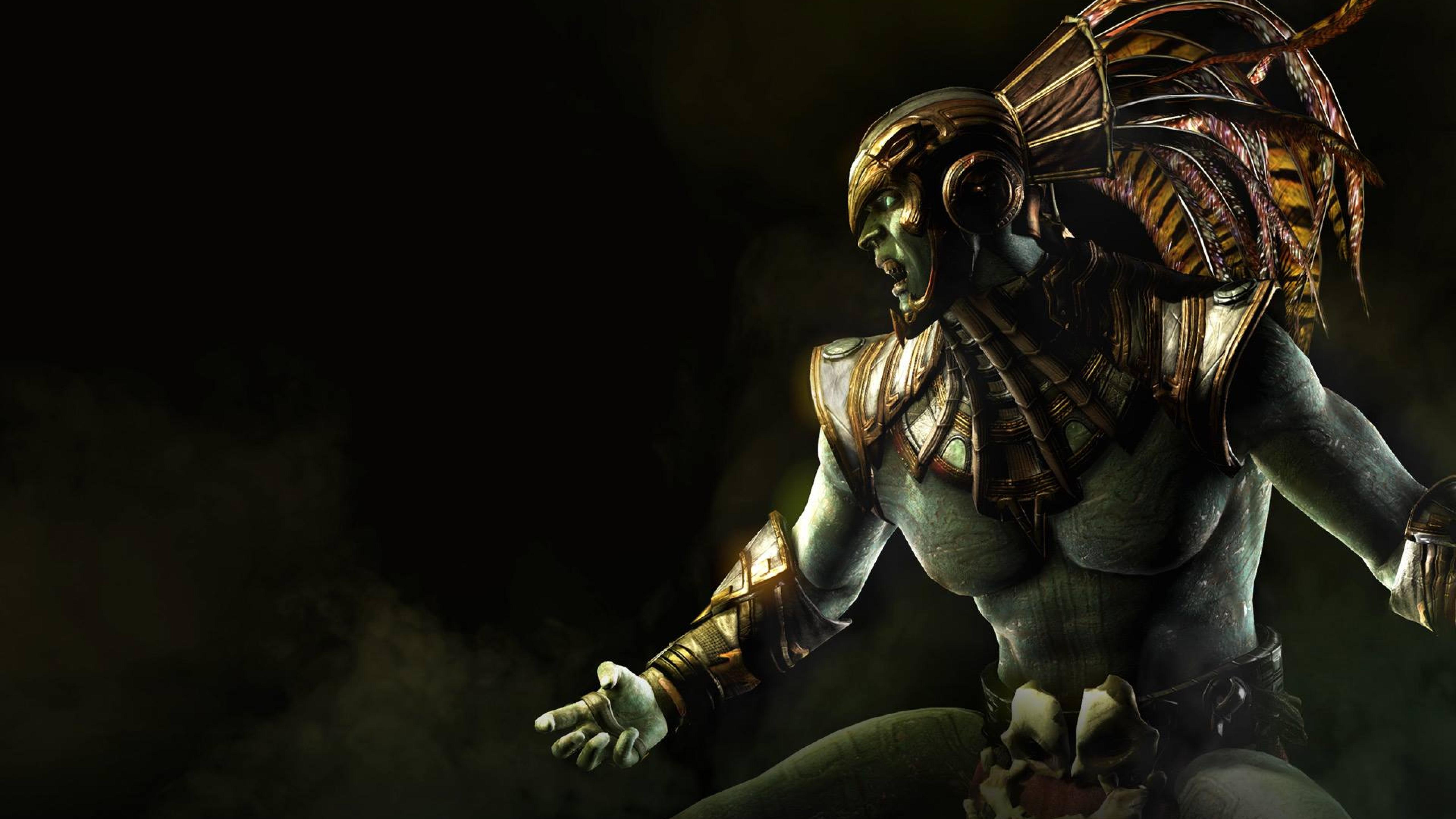 5120x2880 Kotal Kahn Mortal Kombat X Osh Tekk 5k Wallpaper Hd