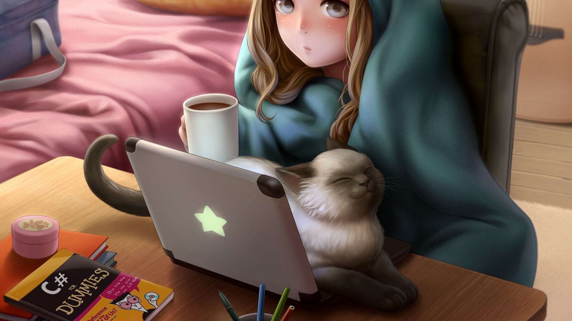 Wallpaper For Laptop Cat
