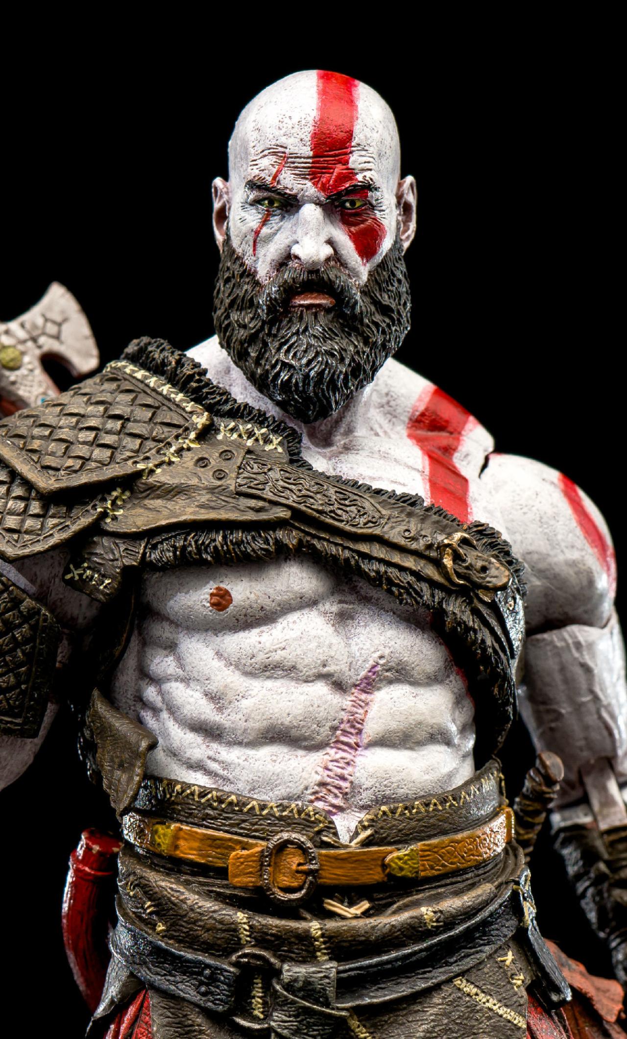 Kratos God Of War 2018, HD 4K Wallpaper
