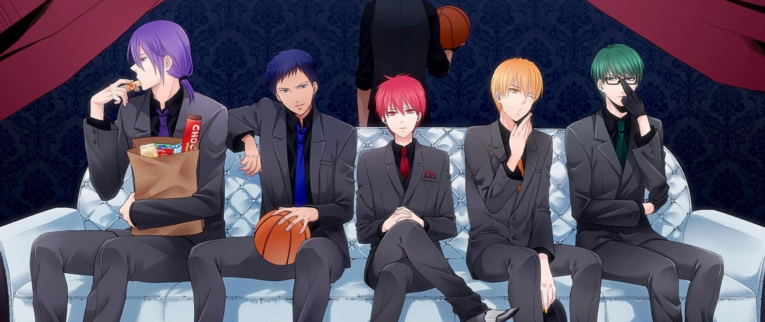 2560x1080 Kuroko No Basket Basketball Kuroko Akashi Seijuurou