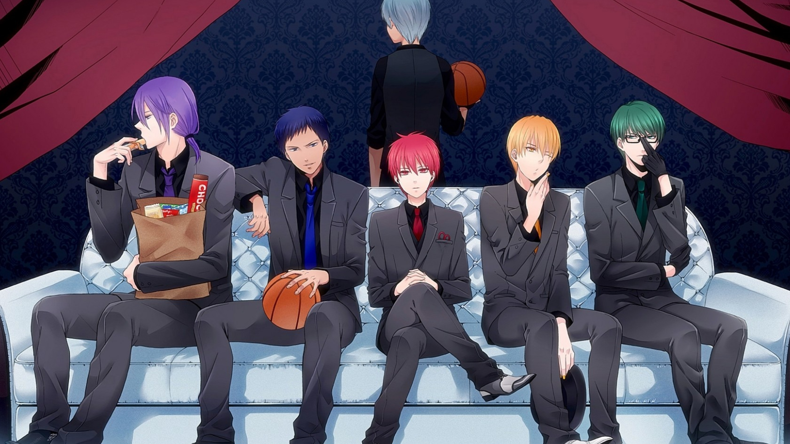 2560x1440 Kuroko No Basket Basketball Kuroko Akashi Seijuurou 1440p Resolution Wallpaper Hd Anime 4k Wallpapers Images Photos And Background