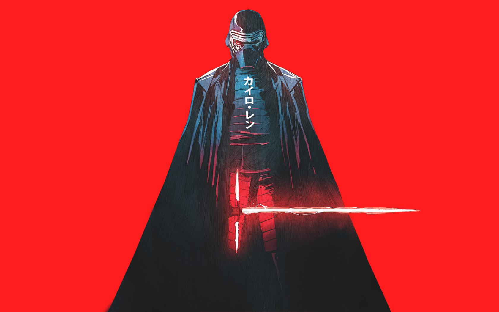 Kylo Ren Star Wars Artwork, Full HD Wallpaper