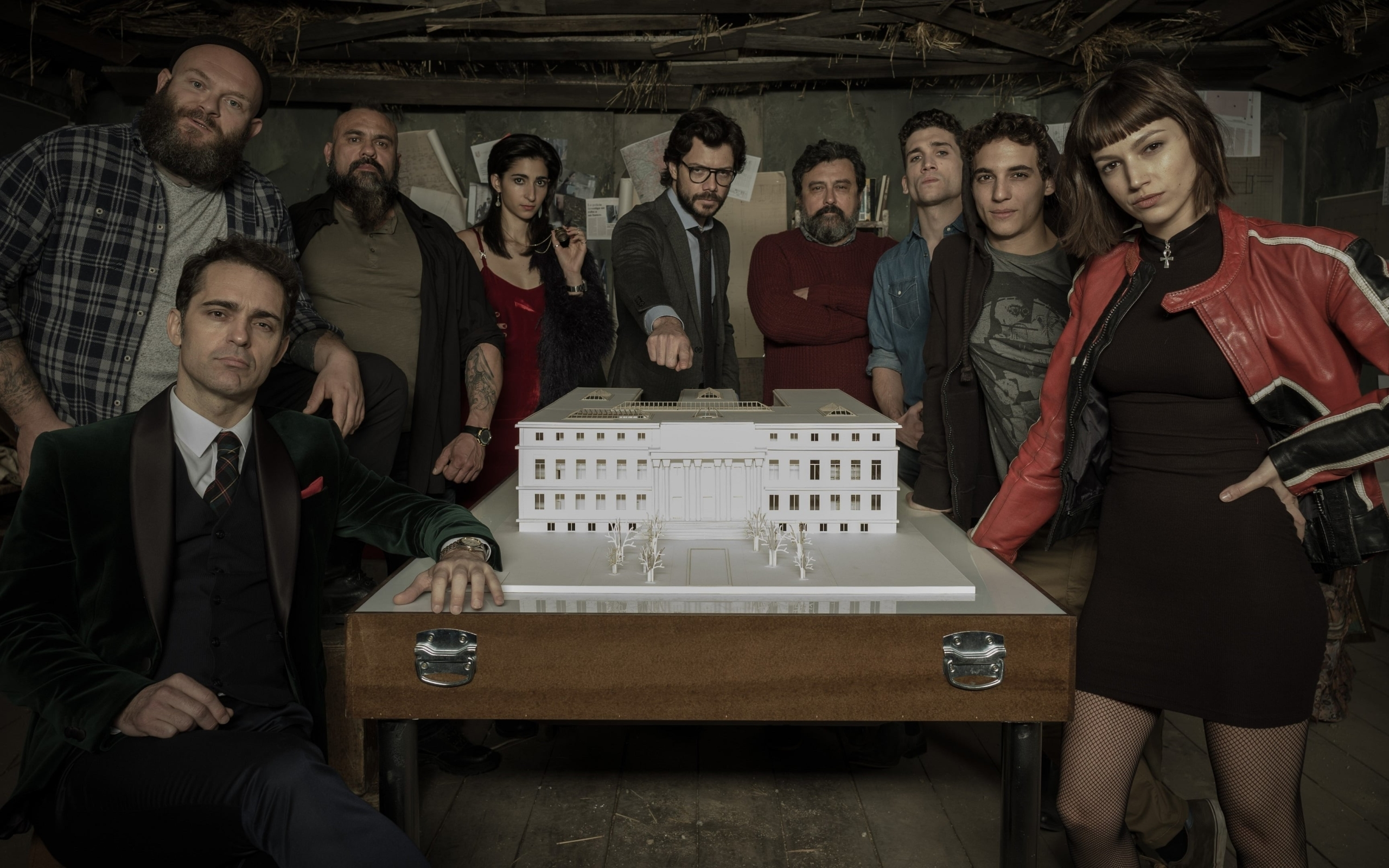 2560x1600 La Casa De Papel 2560x1600 Resolution Wallpaper Hd Tv