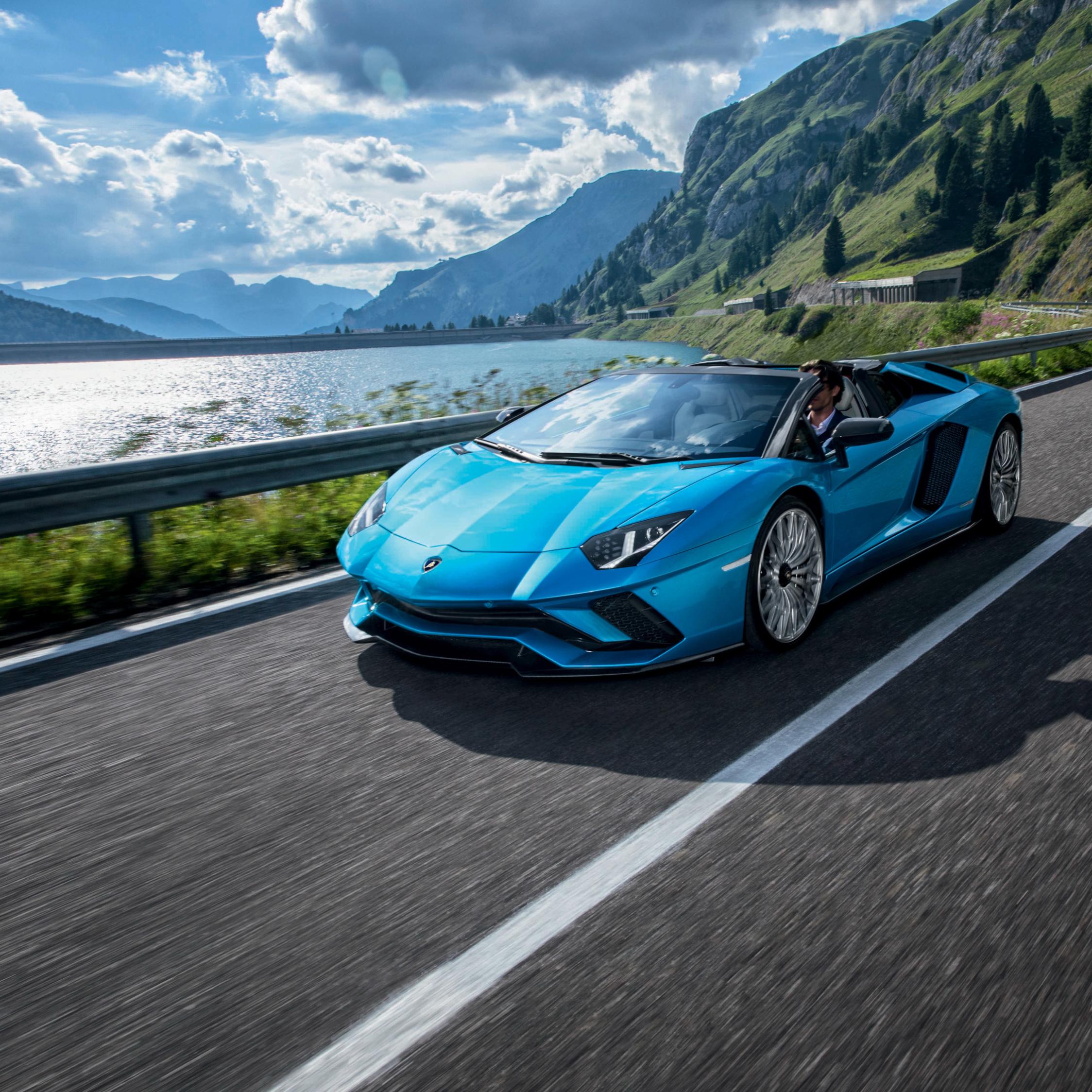 Lamborghini Walpaper: Lamborghini Aventador S Roadster, HD 4K Wallpaper