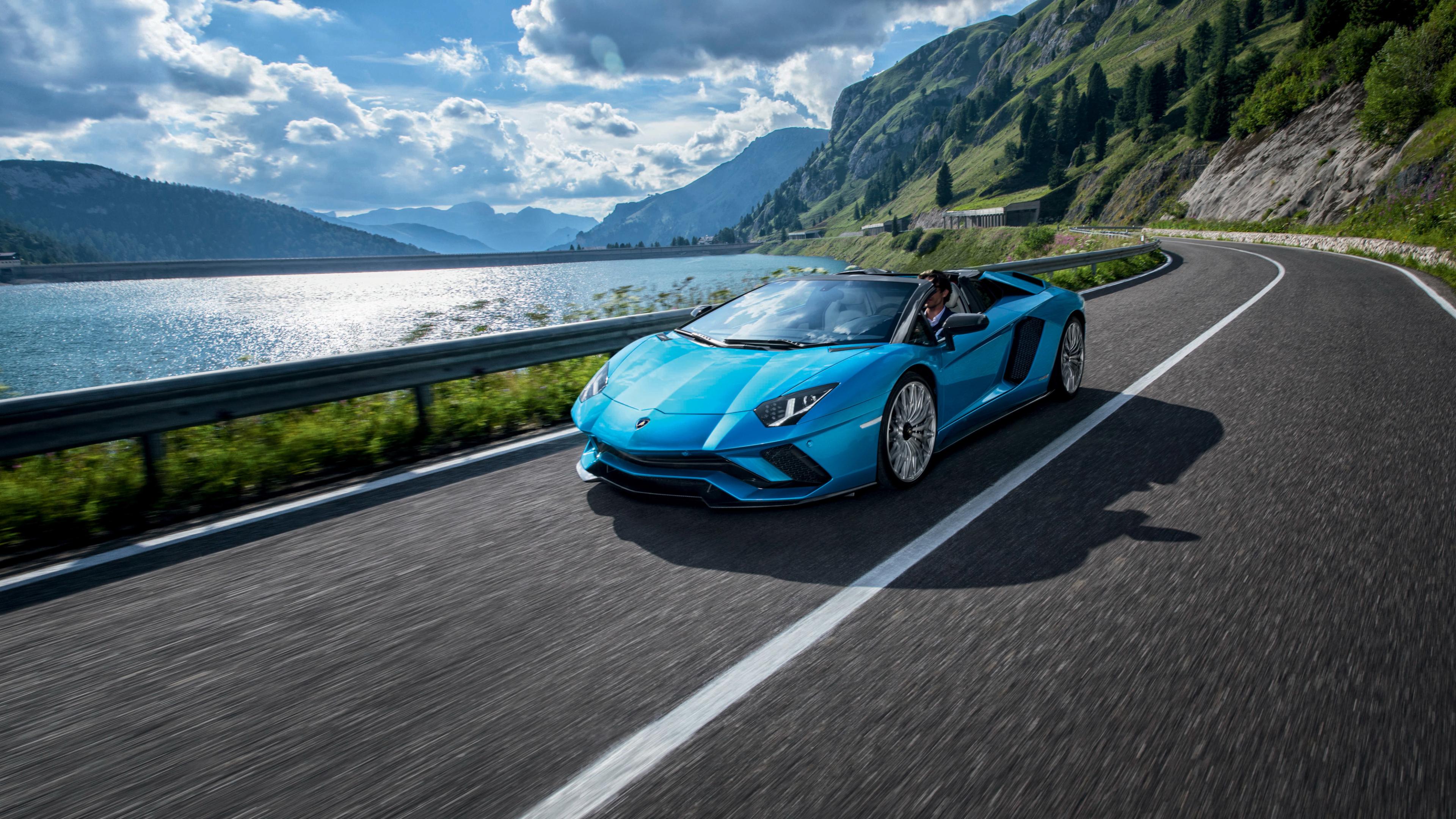 3840x2160 Lamborghini Aventador S Roadster 4K Wallpaper ...