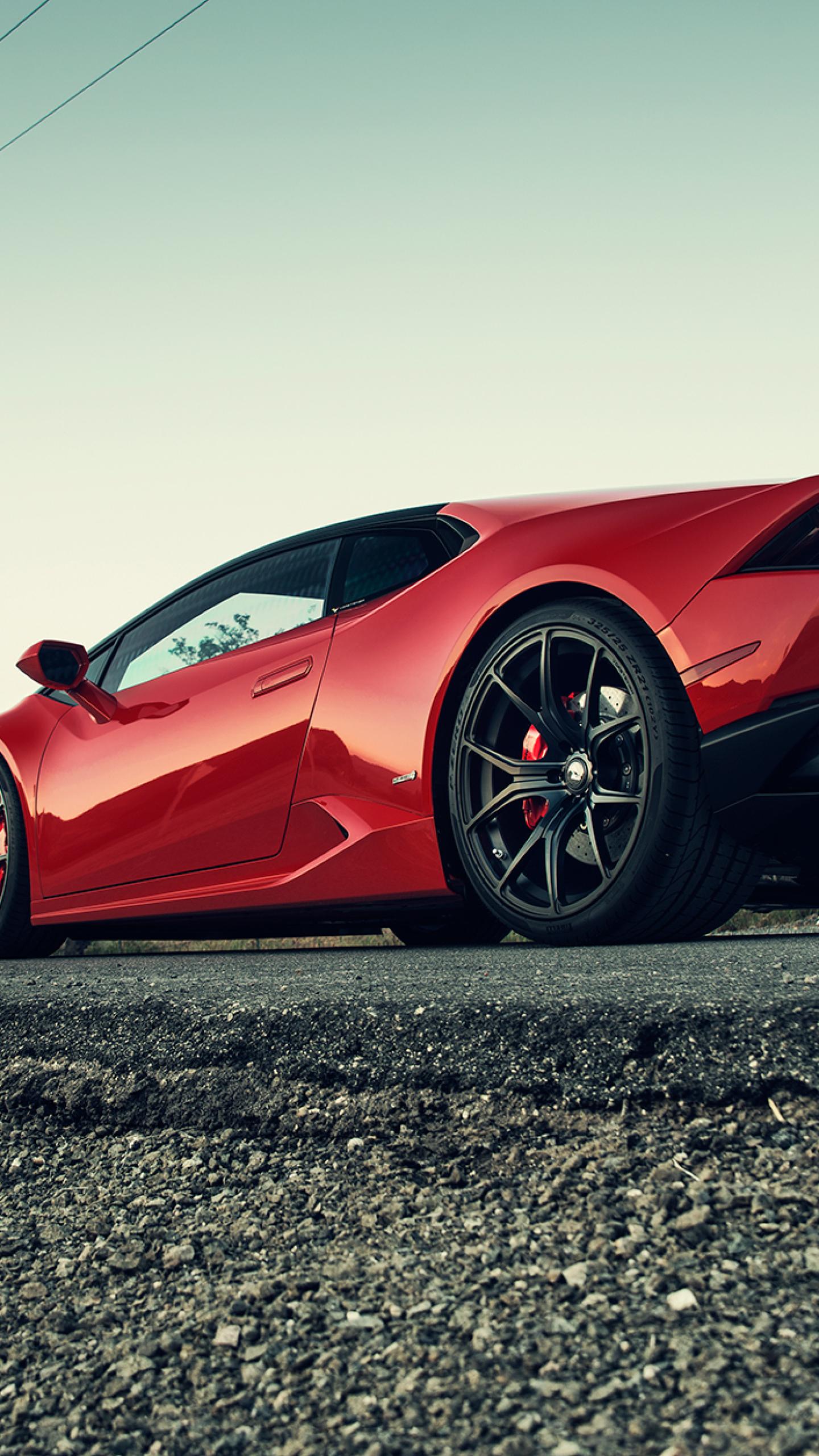 Download Lamborghini Huracan Red 240x400 Rk 2 Rs