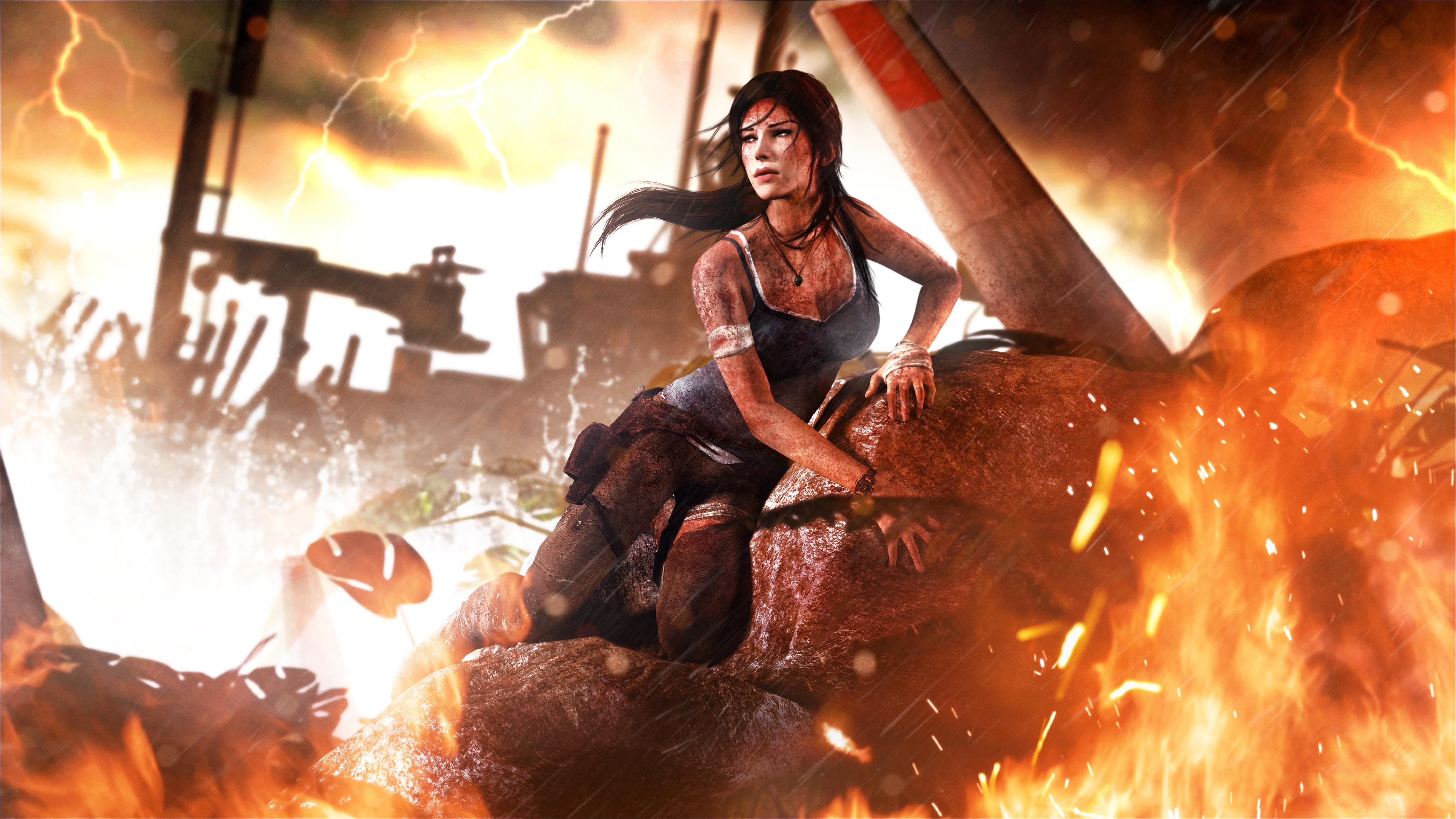 Lara Croft 4K Tomb Raider Wallpaper, HD Games 4K ...