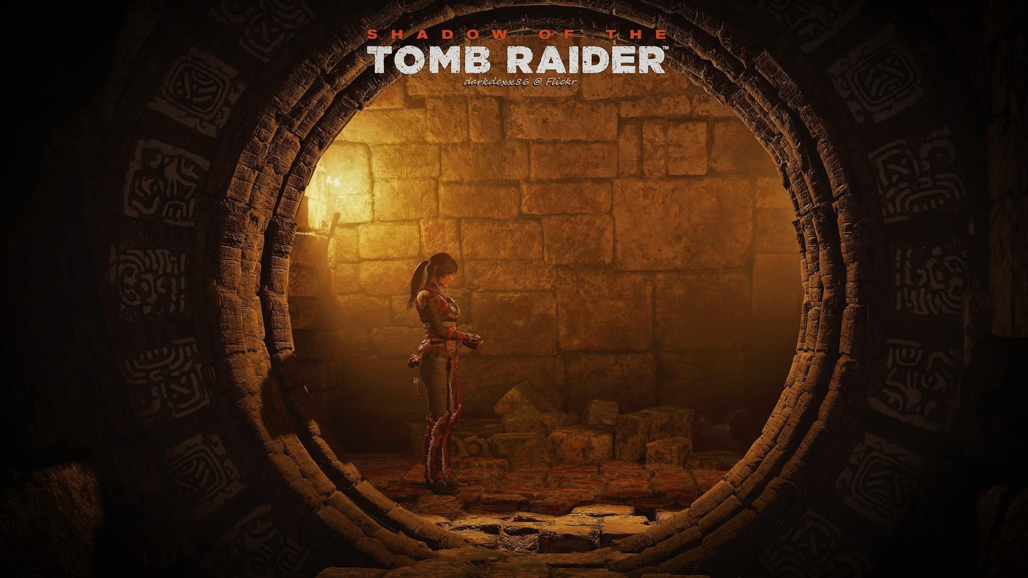 Lara Croft In Shadow Of The Tomb Raider Wallpaper Hd Games 4k