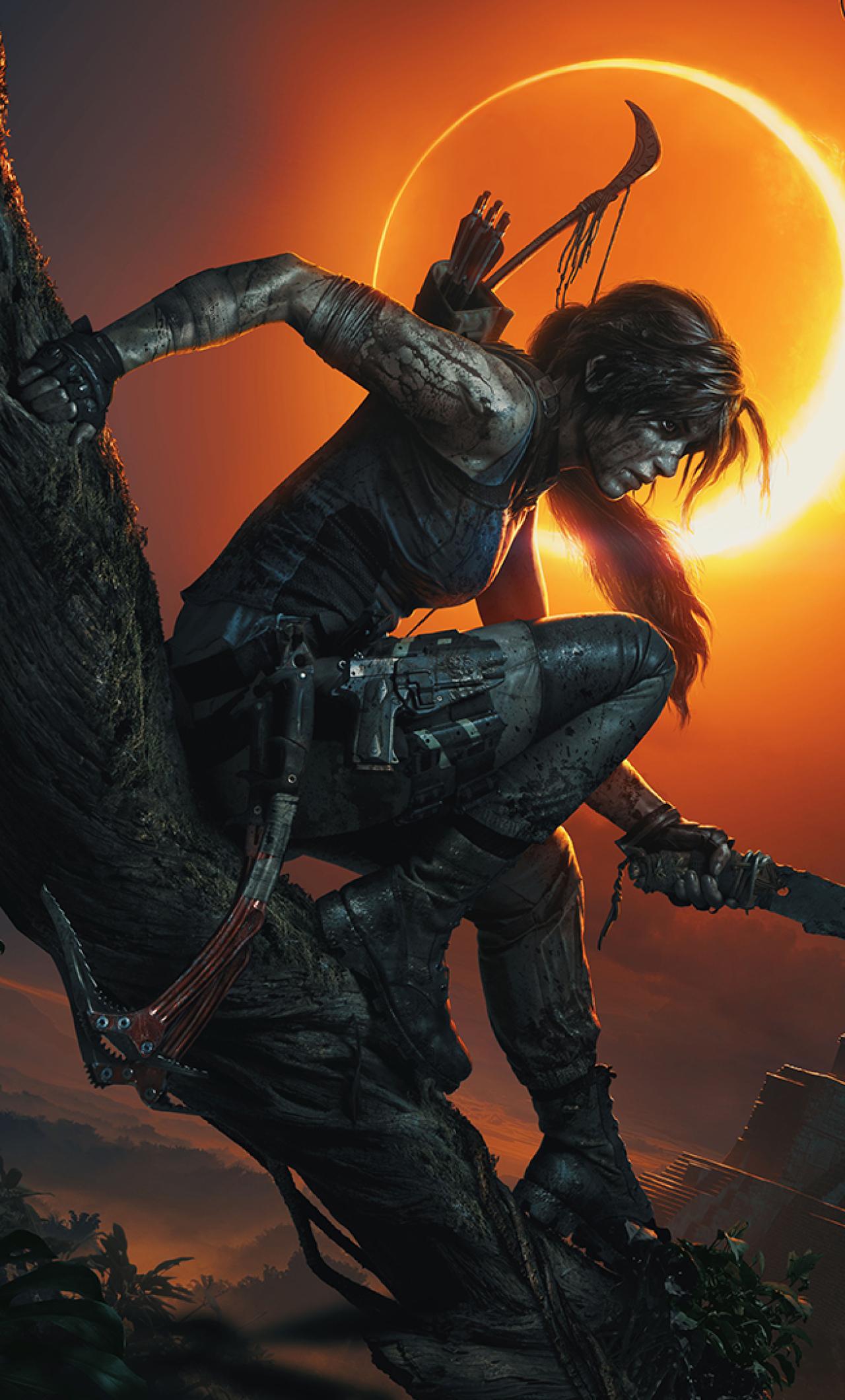 1280x2120 Lara Croft Shadow Of The Tomb Raider Iphone 6 Plus