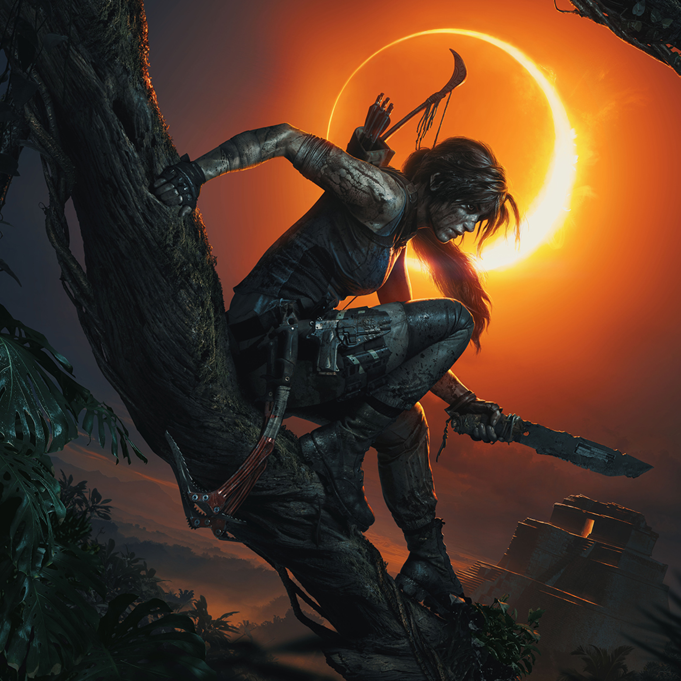 Lara Croft Shadow Of The Tomb Raider, Full HD Wallpaper