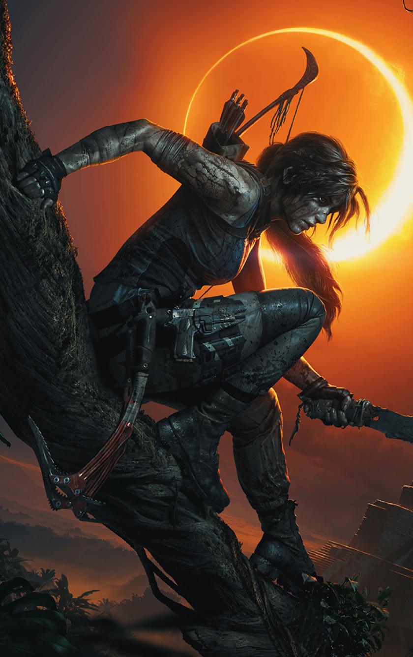 840x1336 Lara Croft Shadow Of The Tomb Raider 840x1336 Resolution