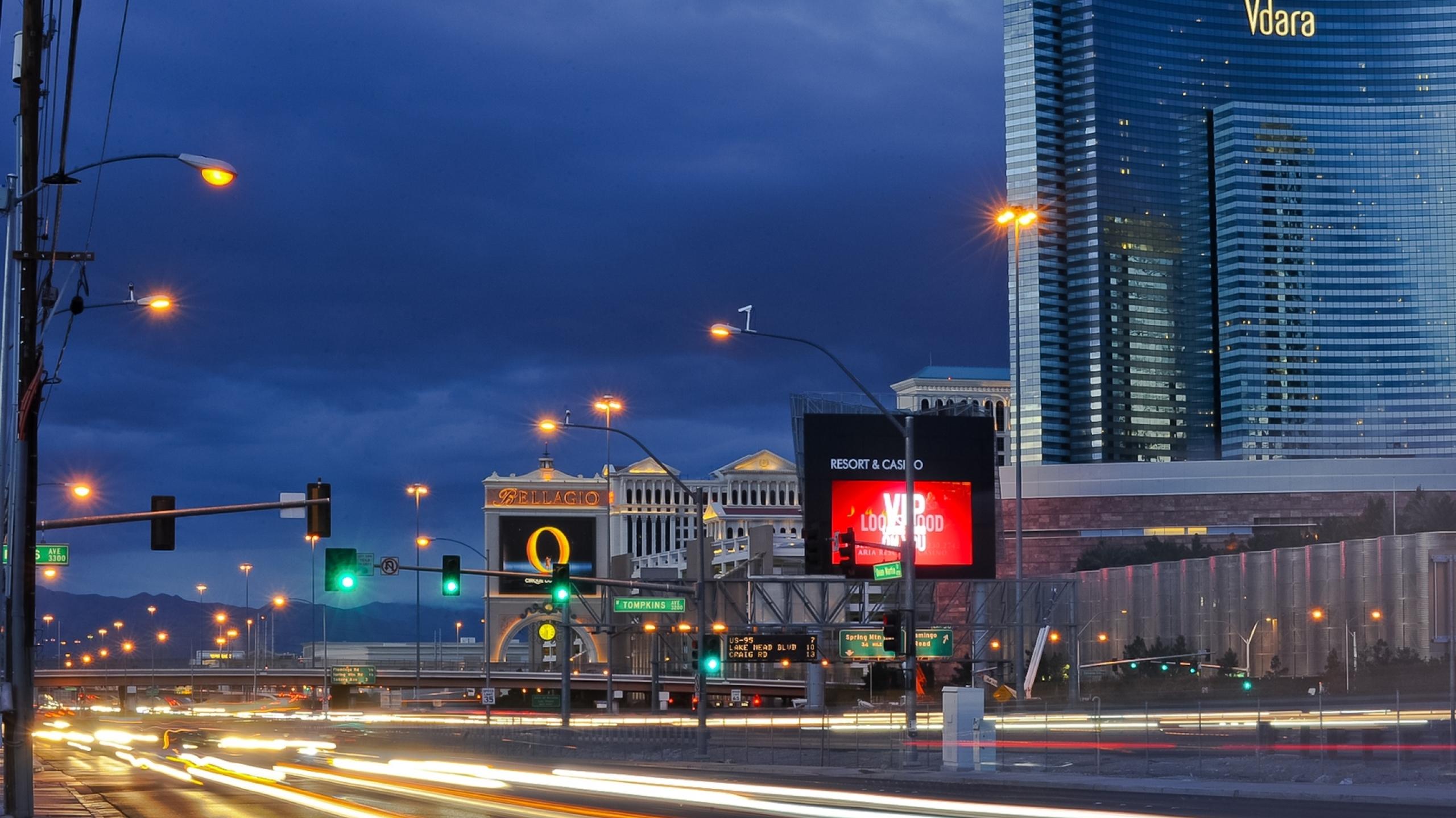 2560x1440 Las Vegas Nevada Night 1440p Resolution Wallpaper Hd
