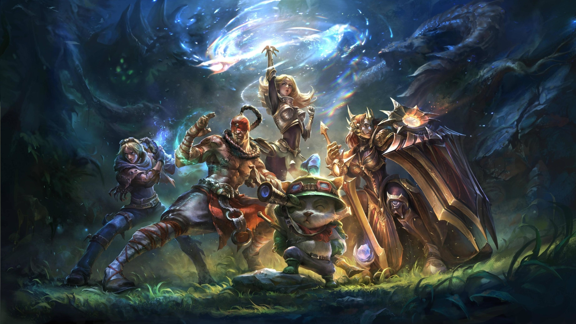 1920x1080 League Of Legends Poster 1080p Laptop Full Hd