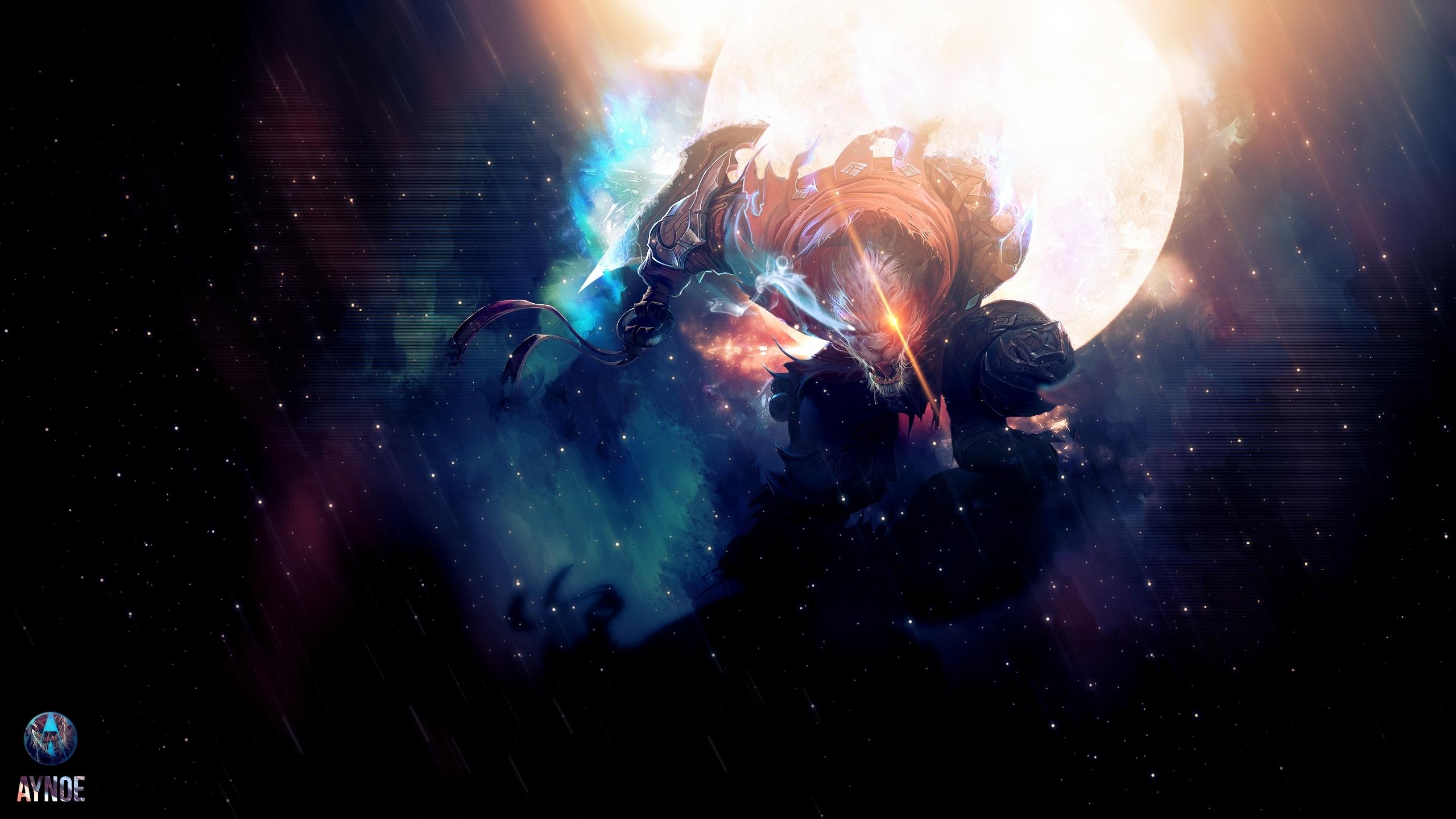 league of legends, rengar, space Wallpaper, HD Games 4K ...