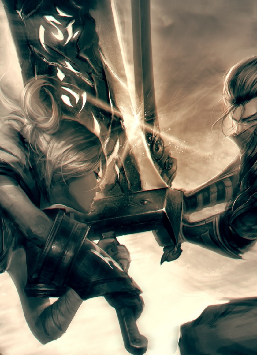 League Of Legends, Yasuo, Riven, Full HD Wallpaper