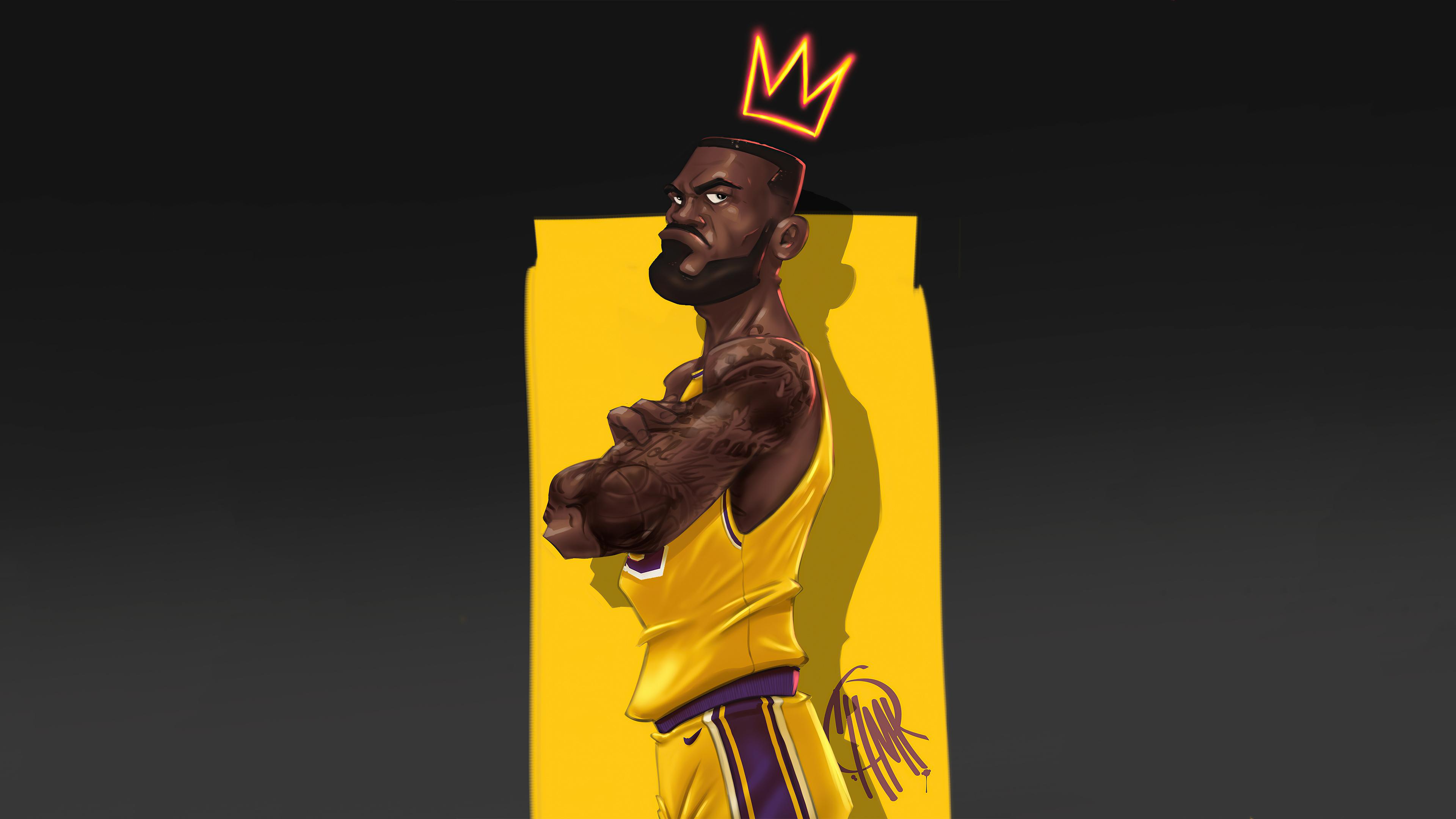 LeBron James FanArt Wallpaper, HD Sports 4K Wallpapers ...