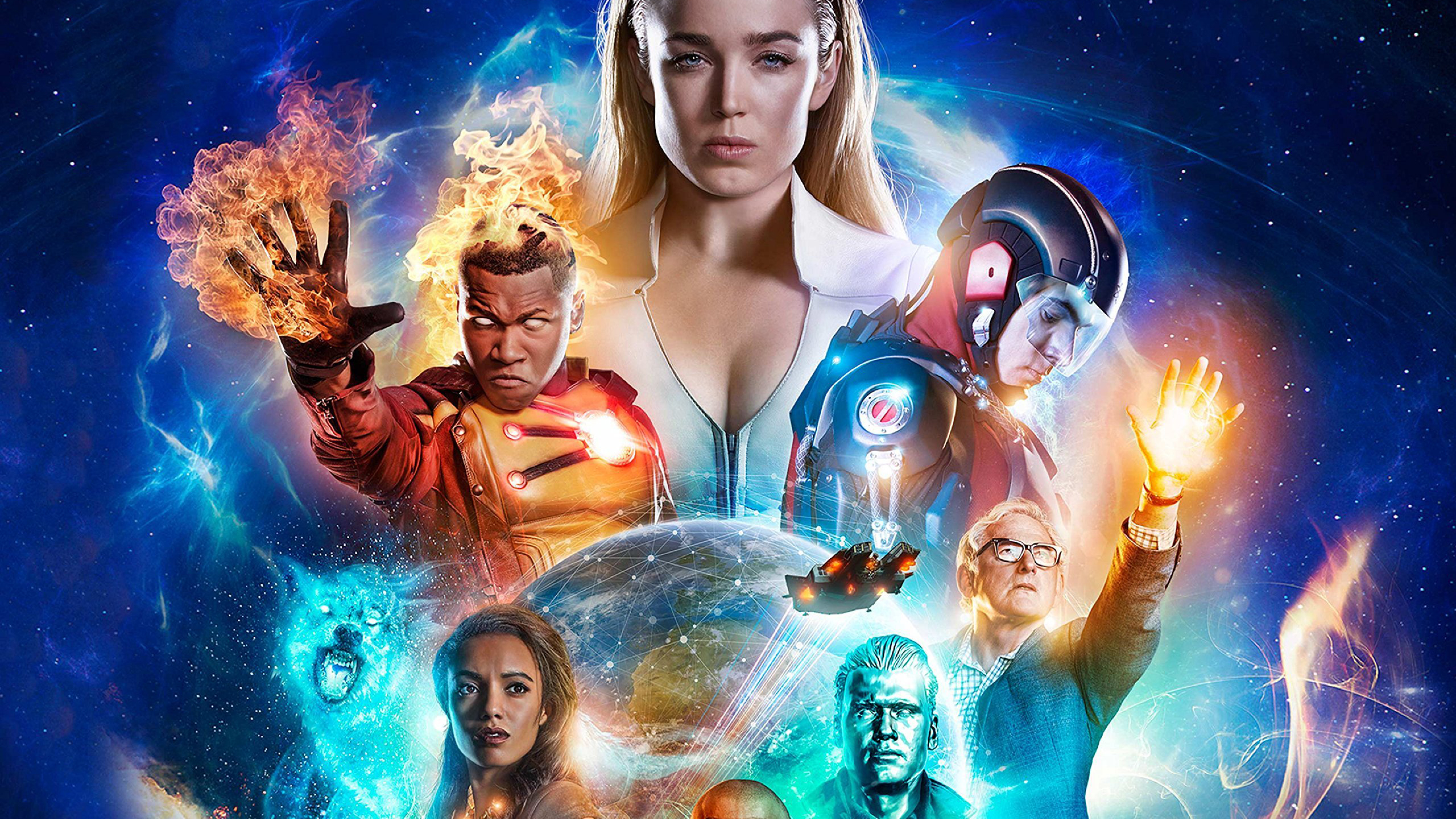 Dc S Legends Of Tomorrow Wallpaper And Background Image: Legends Of Tomorrow, Full HD 2K Wallpaper