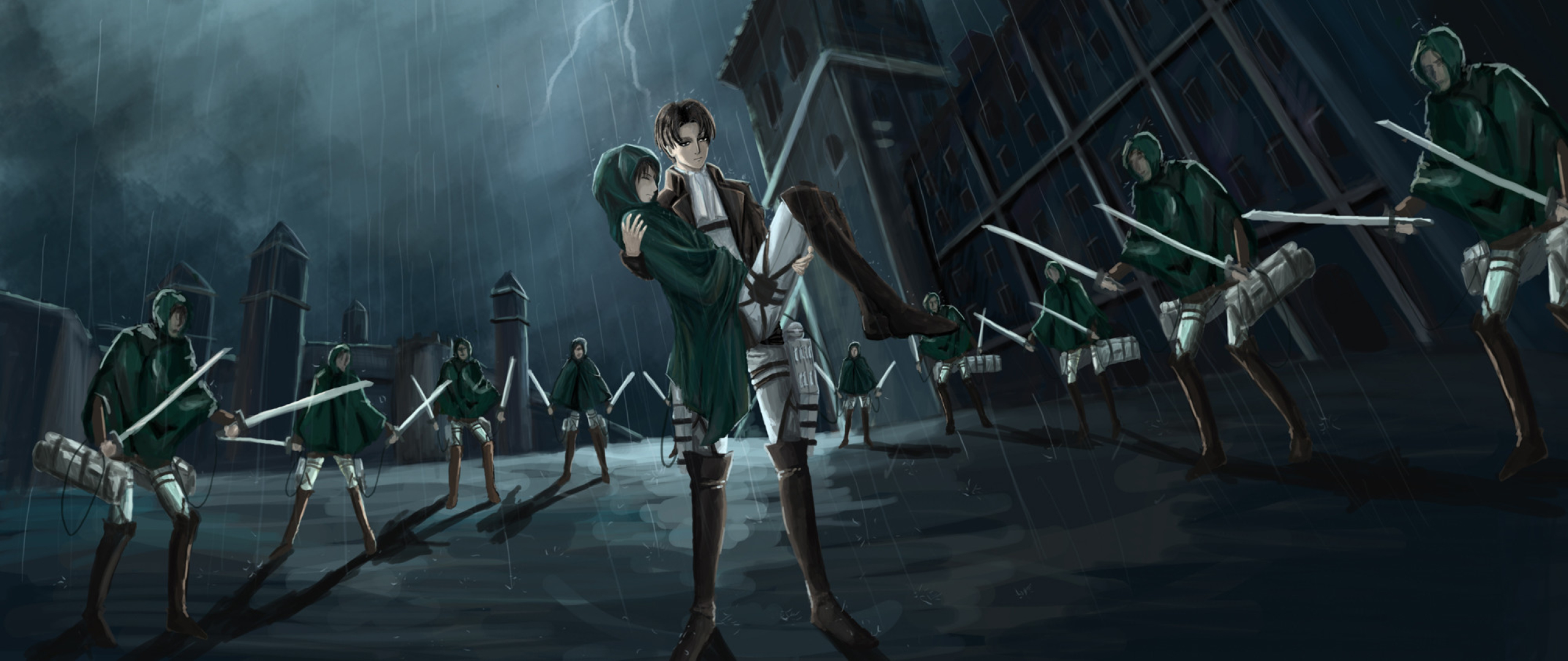 2560x1080 Levi Ackerman Aot 2560x1080 Resolution Wallpaper Hd Anime 4k Wallpapers Images Photos And Background