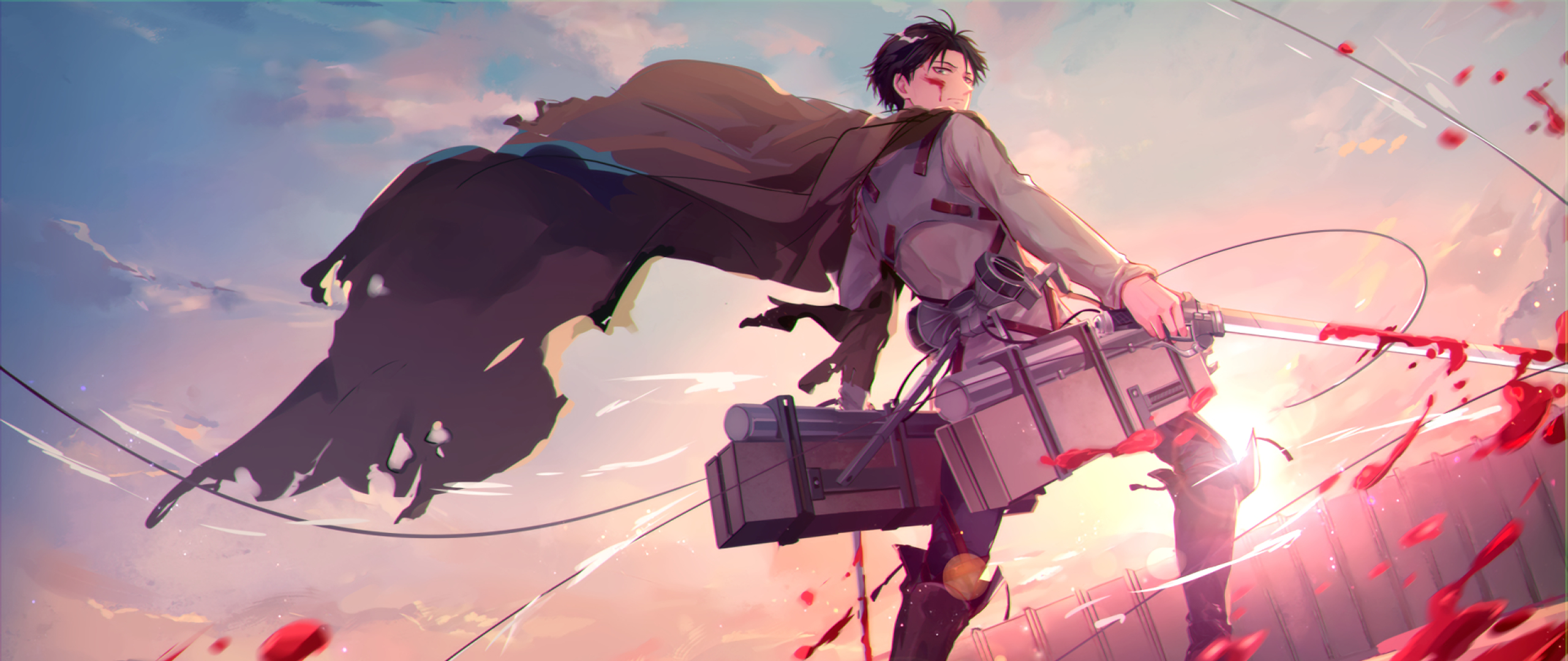 2560x1080 Levi Ackerman 2560x1080 Resolution Wallpaper Hd Anime 4k Wallpapers Images Photos And Background