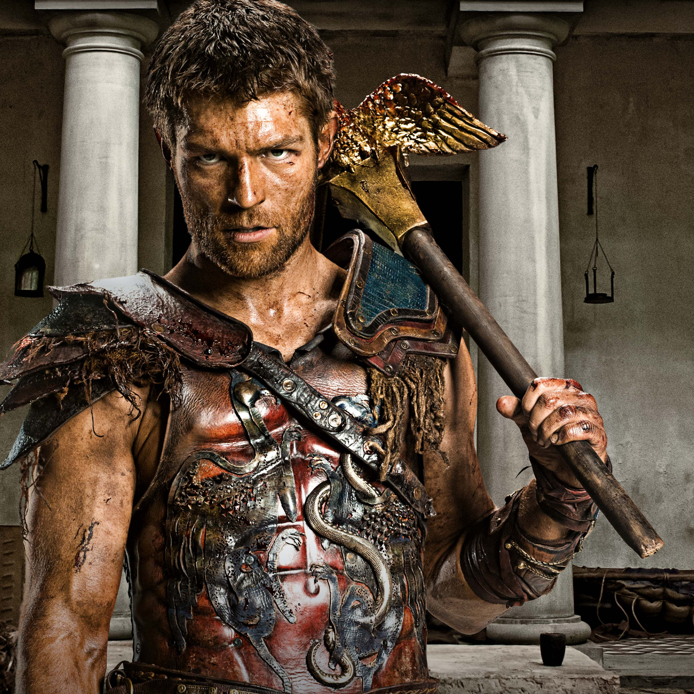 Liam Mcintyre Spartacus, HD 4K Wallpaper