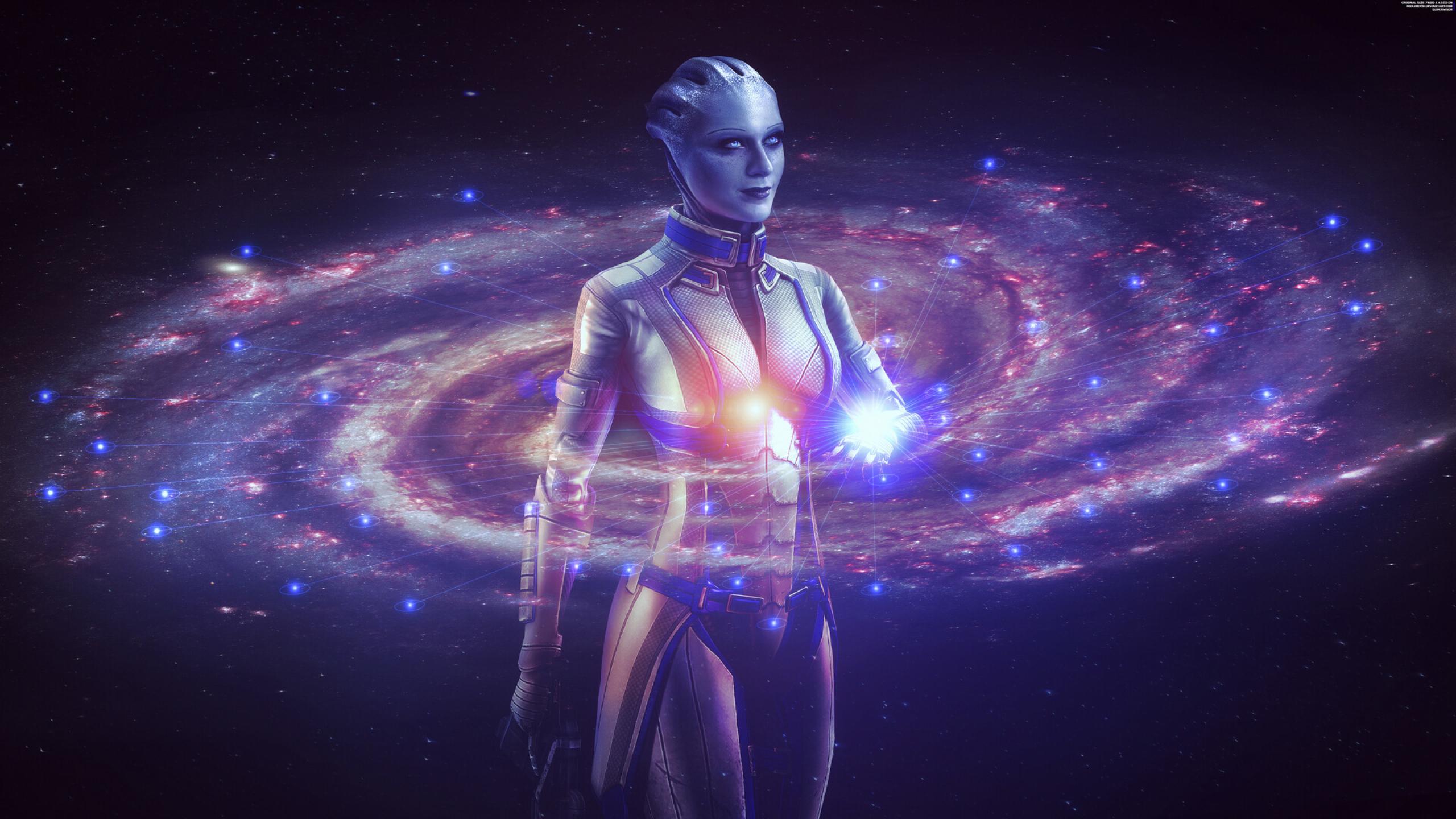 2560x1440 Liara Mass Effect 1440P Resolution Wallpaper, HD ...