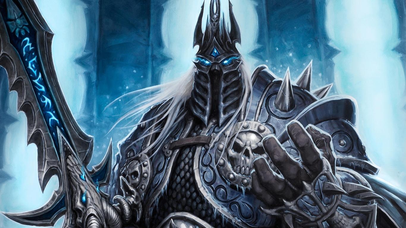 1366x768 Lich King World Of Warcraft 1366x768 Resolution Wallpaper