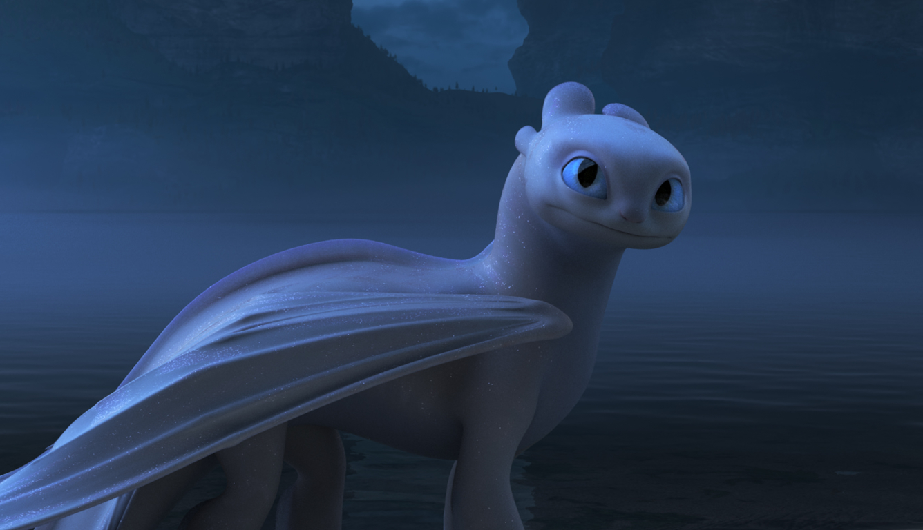 1336x768 Light Fury In How To Train Your Dragon The Hidden World