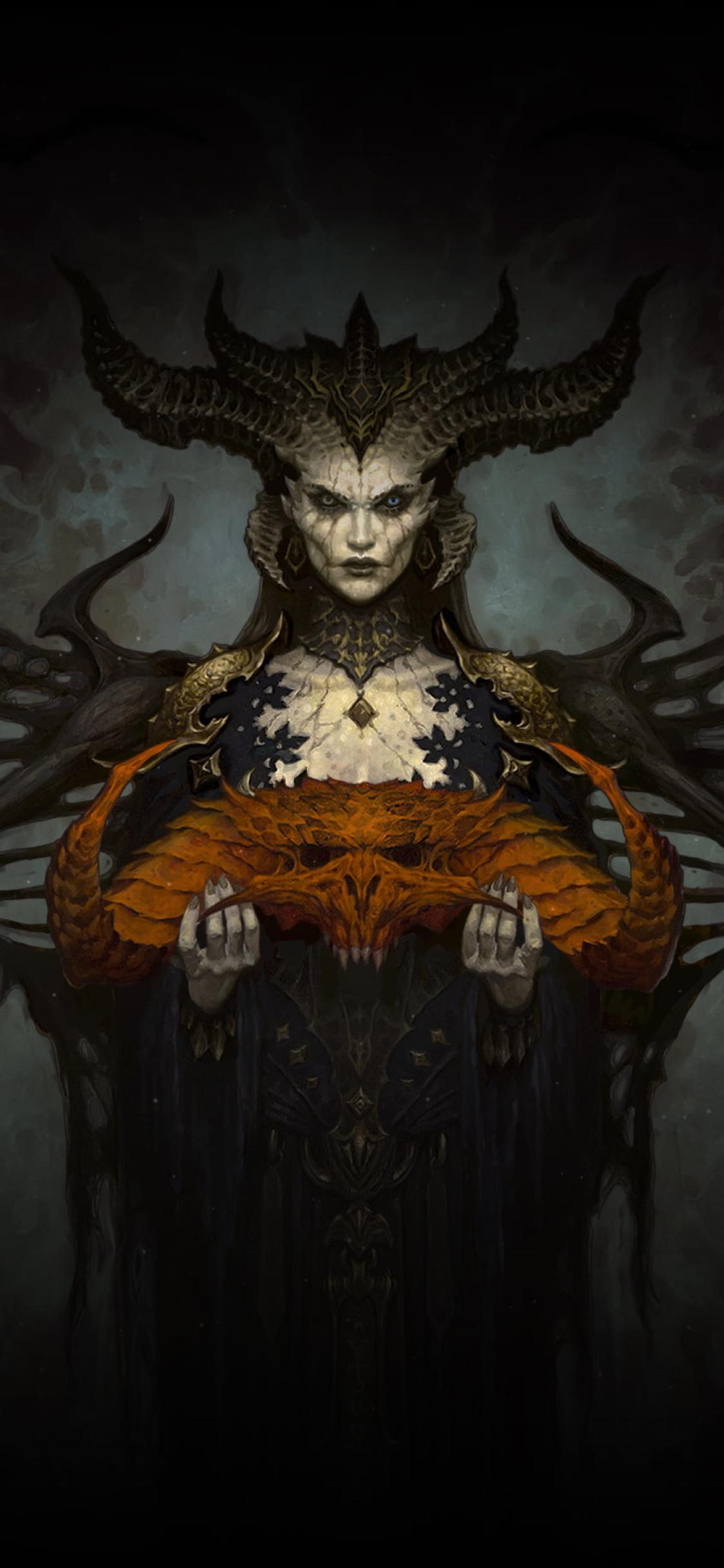 1125x2436 Lilith In Diablo 4 Iphone XS,Iphone 10,Iphone X ...
