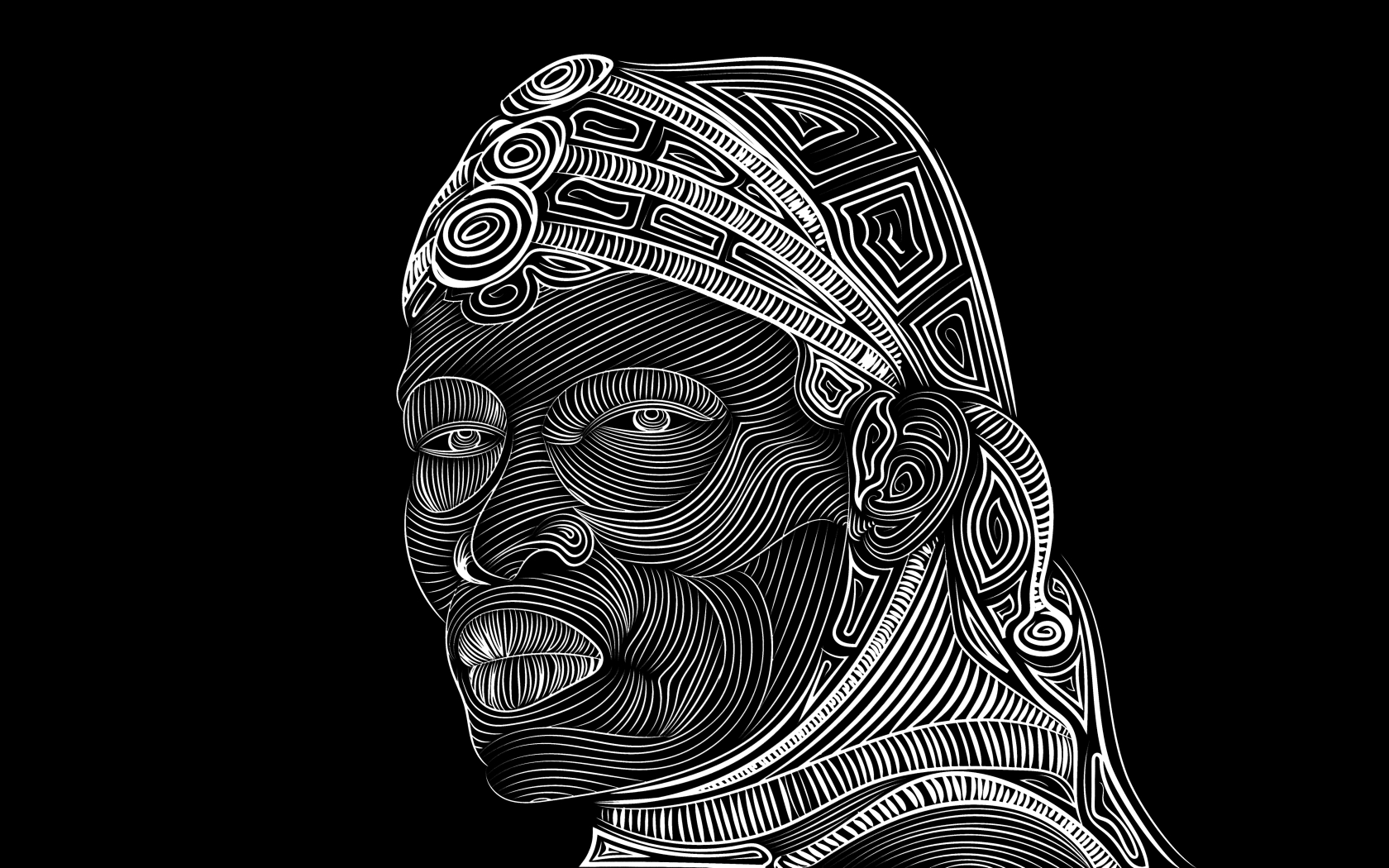 Line Art Download : Line vector art face drawing hd k wallpaper