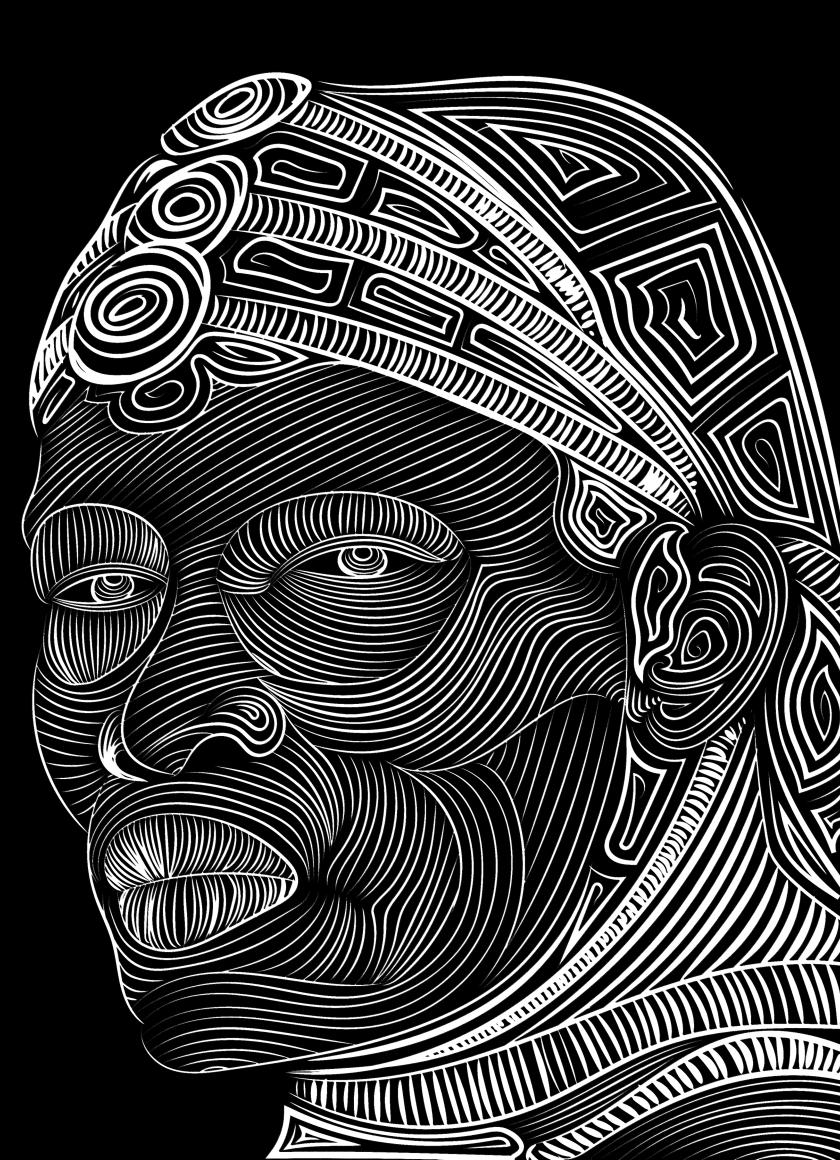 Line Art Resolution : Download line vector art face drawing resolution