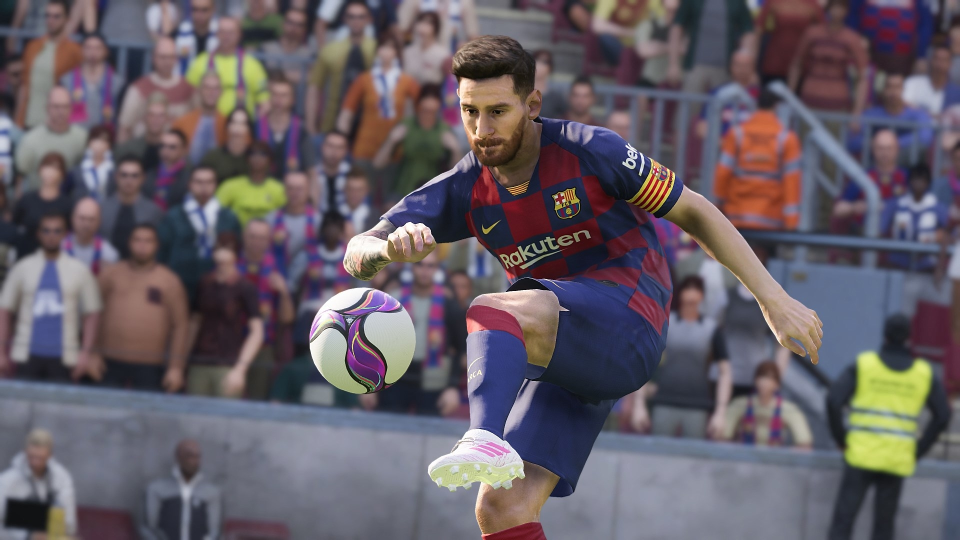 Lionel Messi In eFootball PES 2020 Wallpaper, HD Games 4K ...
