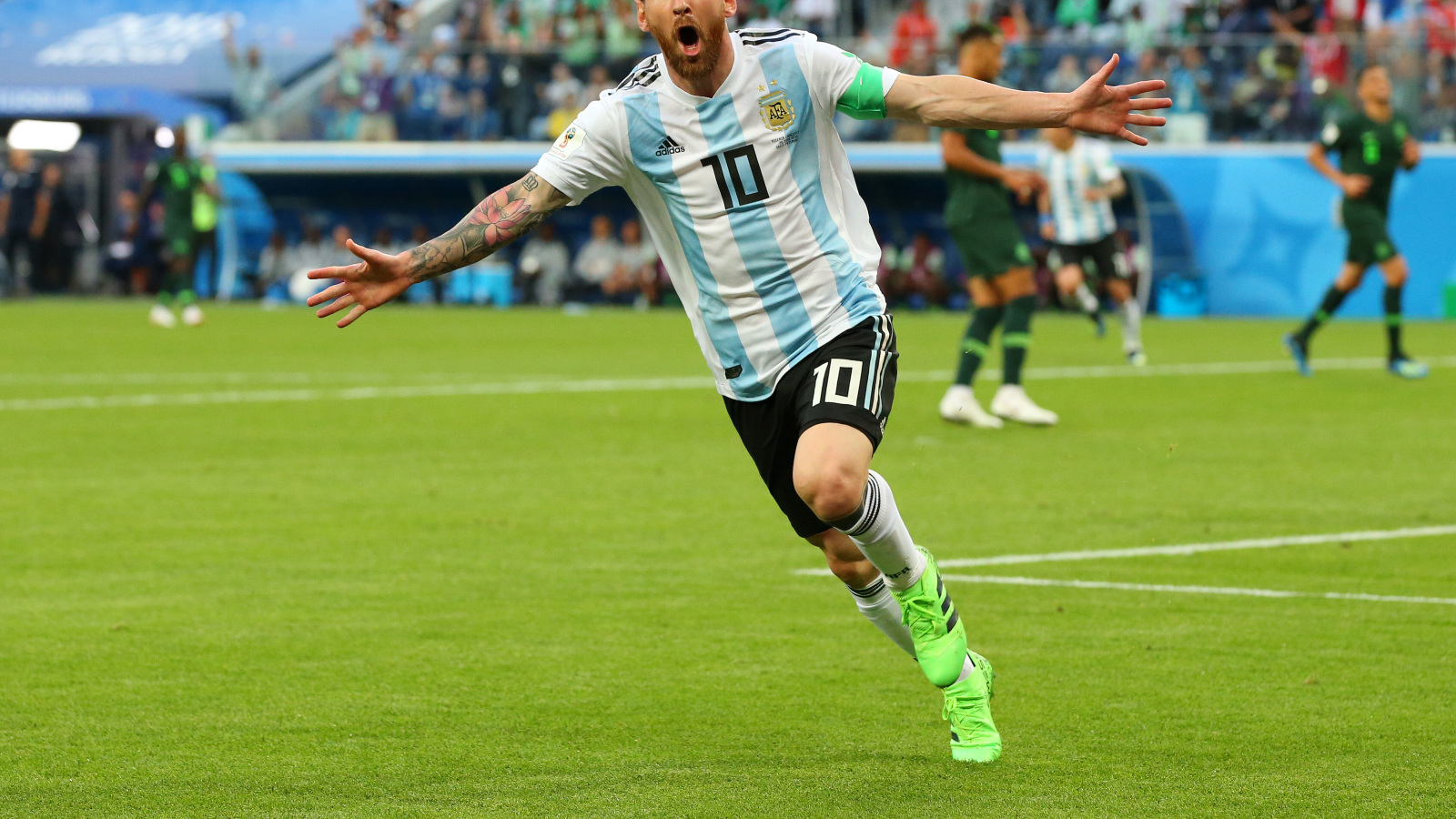 1600x900 Lionel Messi in FIFA 2018 World Cup 1600x900 ...