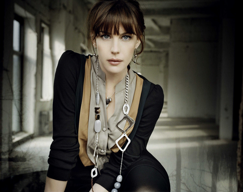 Liv Tyler Black Dress Images Wallpaper Hd Celebrities 4k