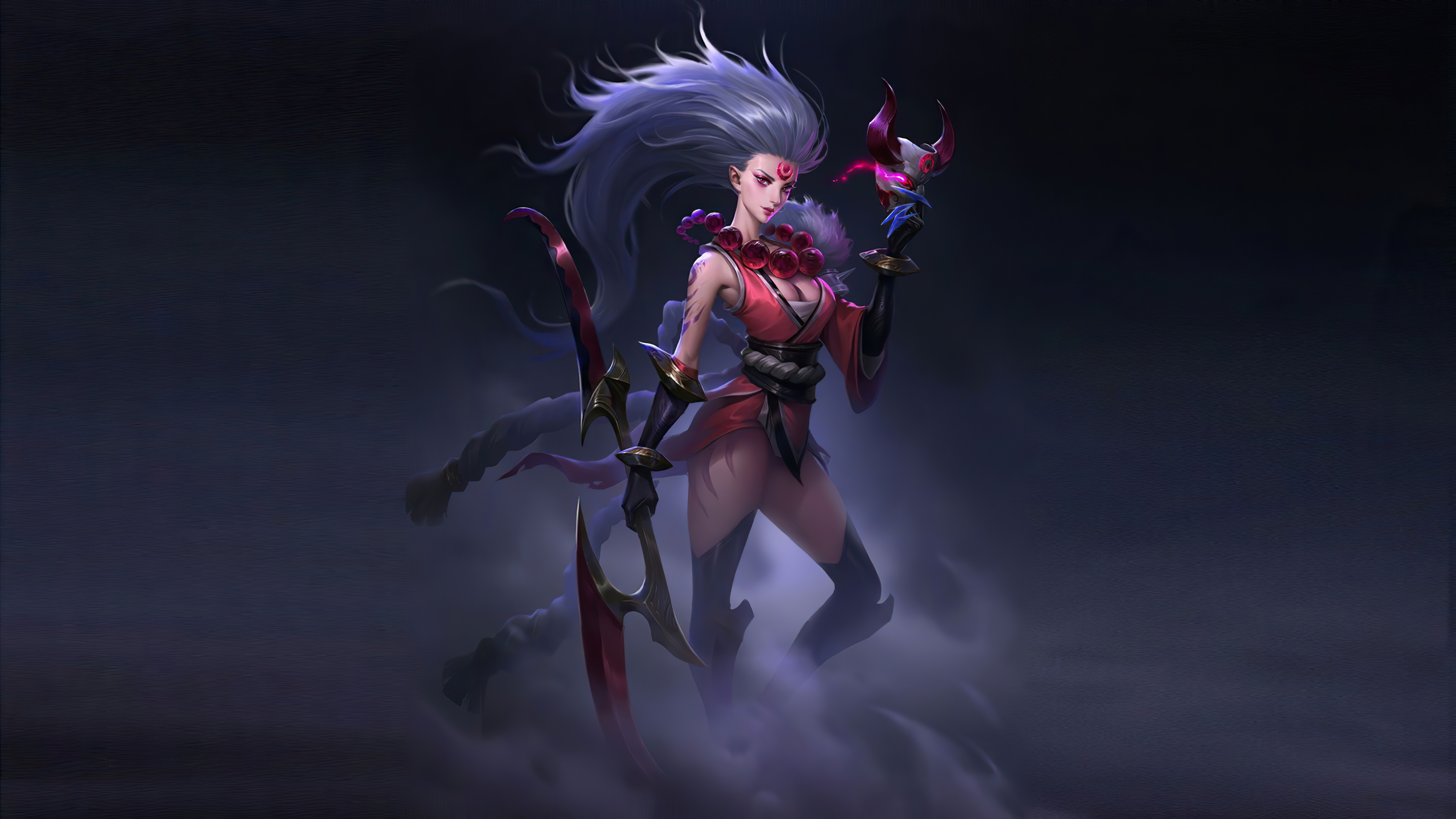 640x960 Lol Blood Moon Diana Iphone 4 Iphone 4s Wallpaper Hd Games 4k Wallpapers Images Photos And Background