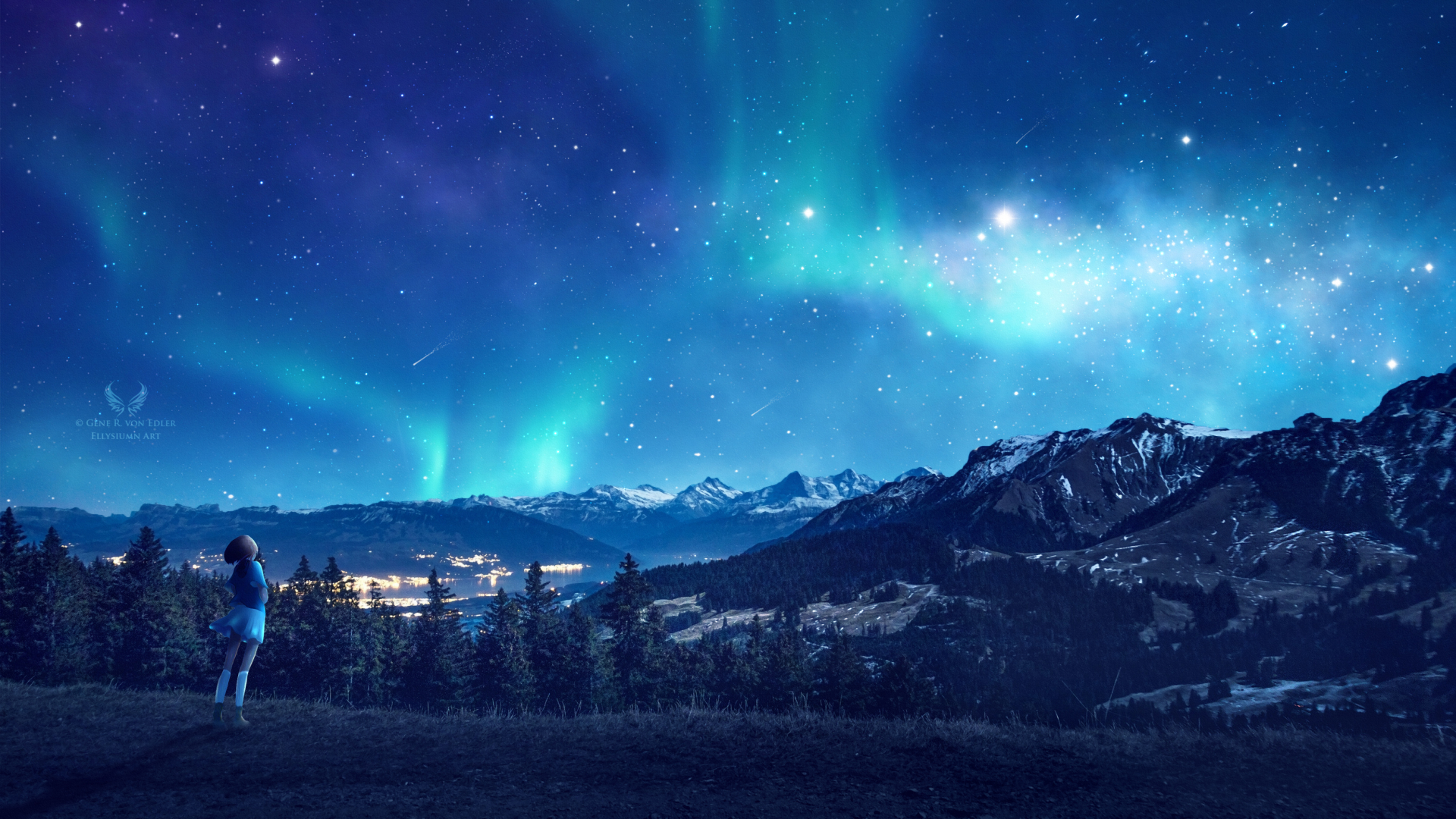 1920x1080 Looking At The Stars 1080p Laptop Full Hd