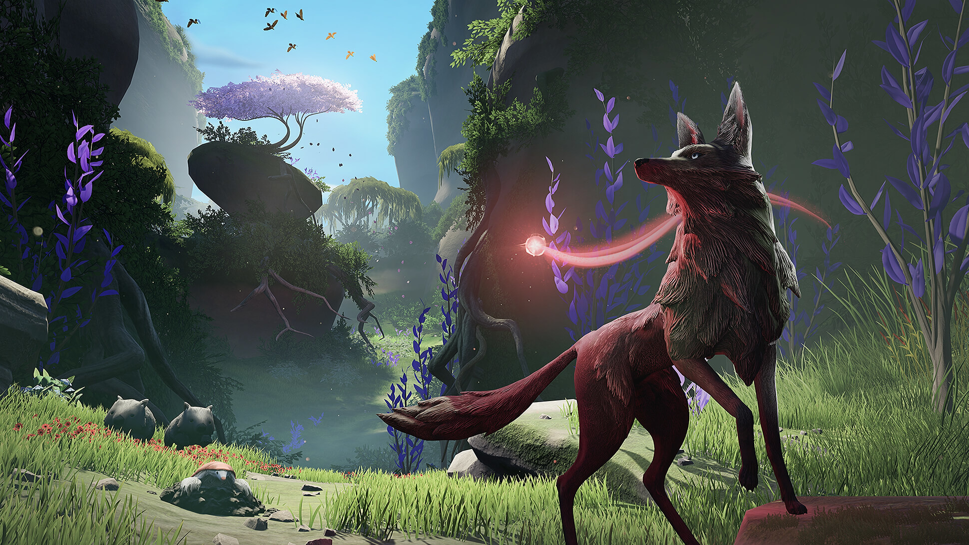 1920x1200 Lost Ember Wolf 1200p Wallpaper Hd Games 4k Wallpapers Images Photos And Background