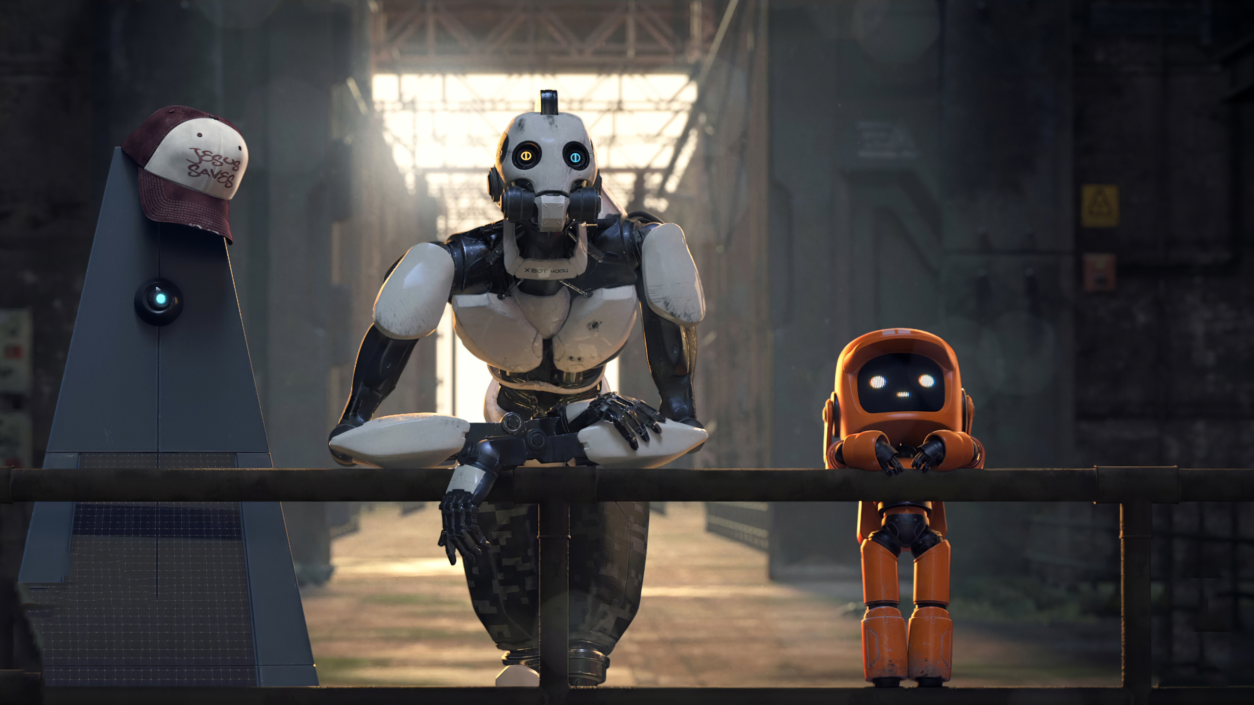 2560x1440 Love Death And Robots 1440P Resolution Wallpaper ...